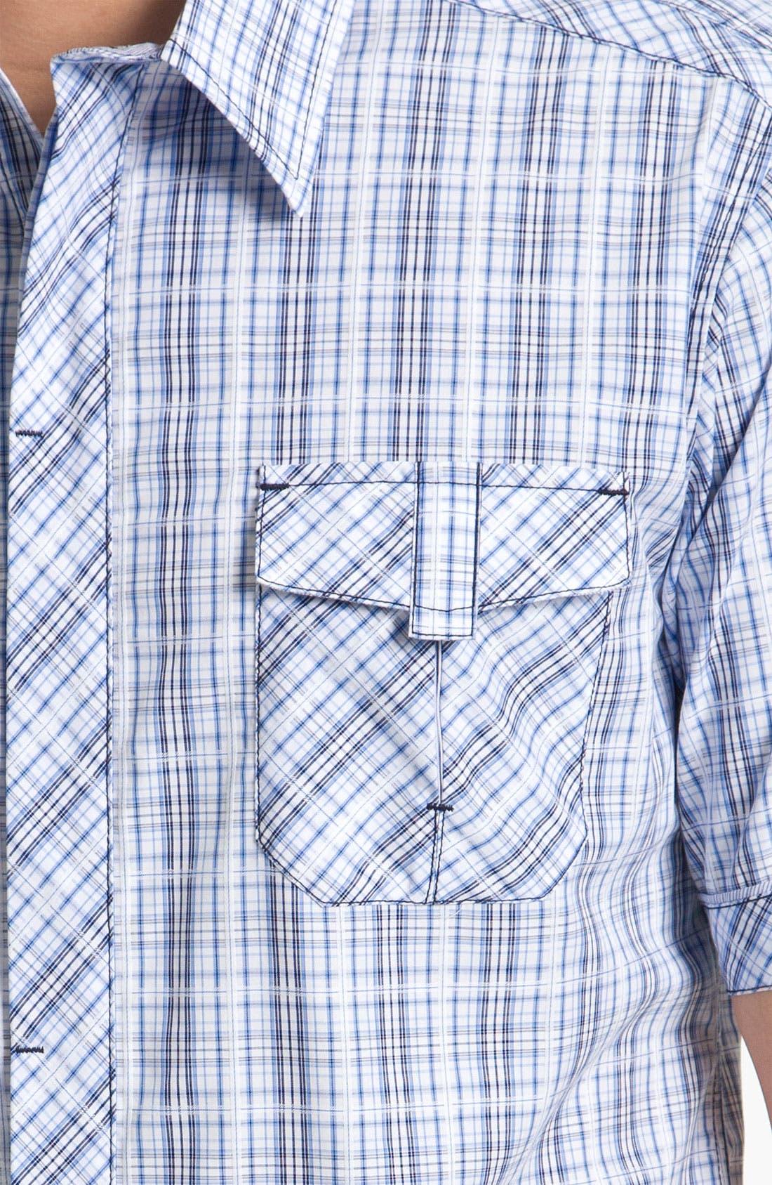 Alternate Image 3  - 7 Diamonds 'Wonderful World' Plaid Woven Shirt
