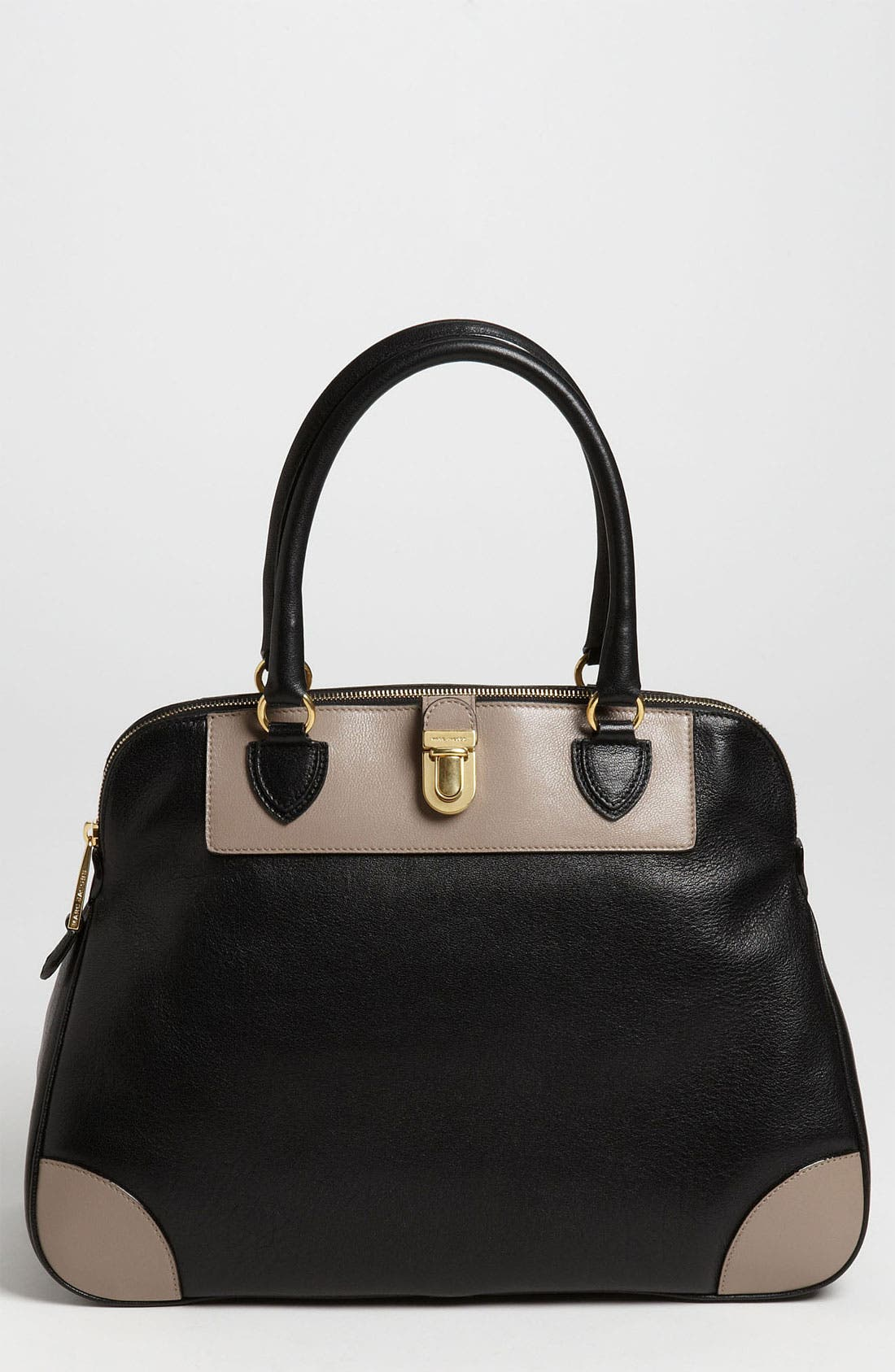 Main Image - MARC JACOBS 'Colorblock Manhattan Tribeca' Leather Tote