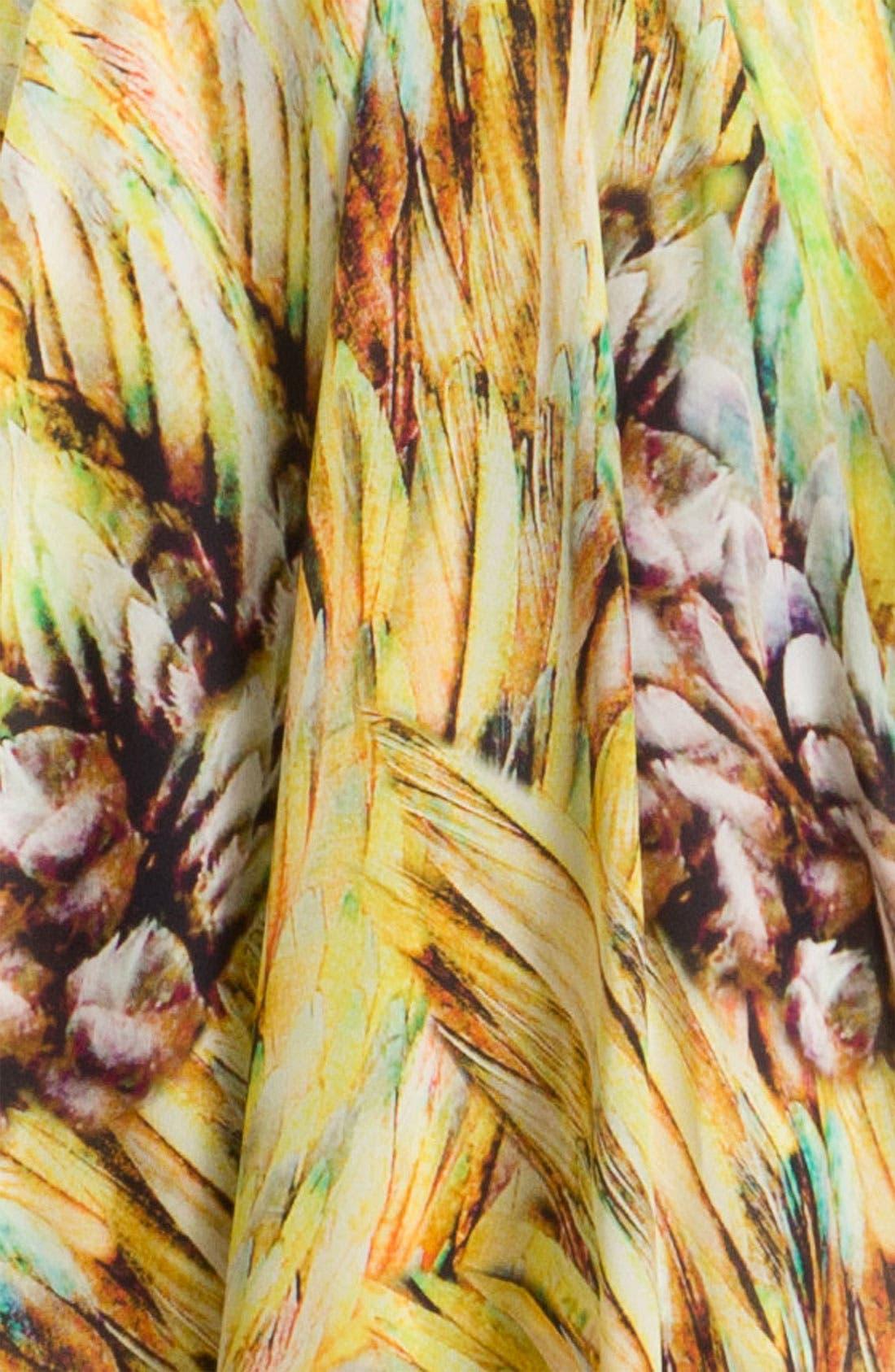Alternate Image 3  - Charlie Jade Silk Surplice Dress