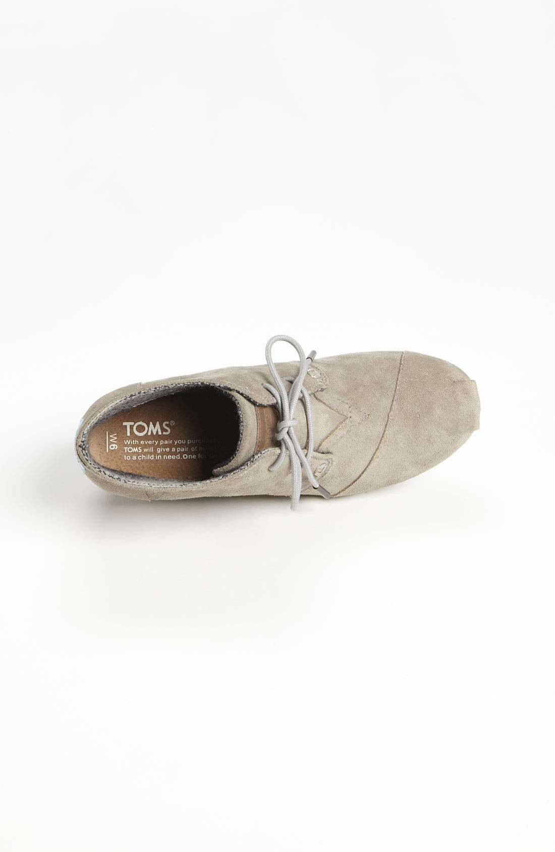 'Desert' Bootie,                             Alternate thumbnail 3, color,                             Taupe Suede