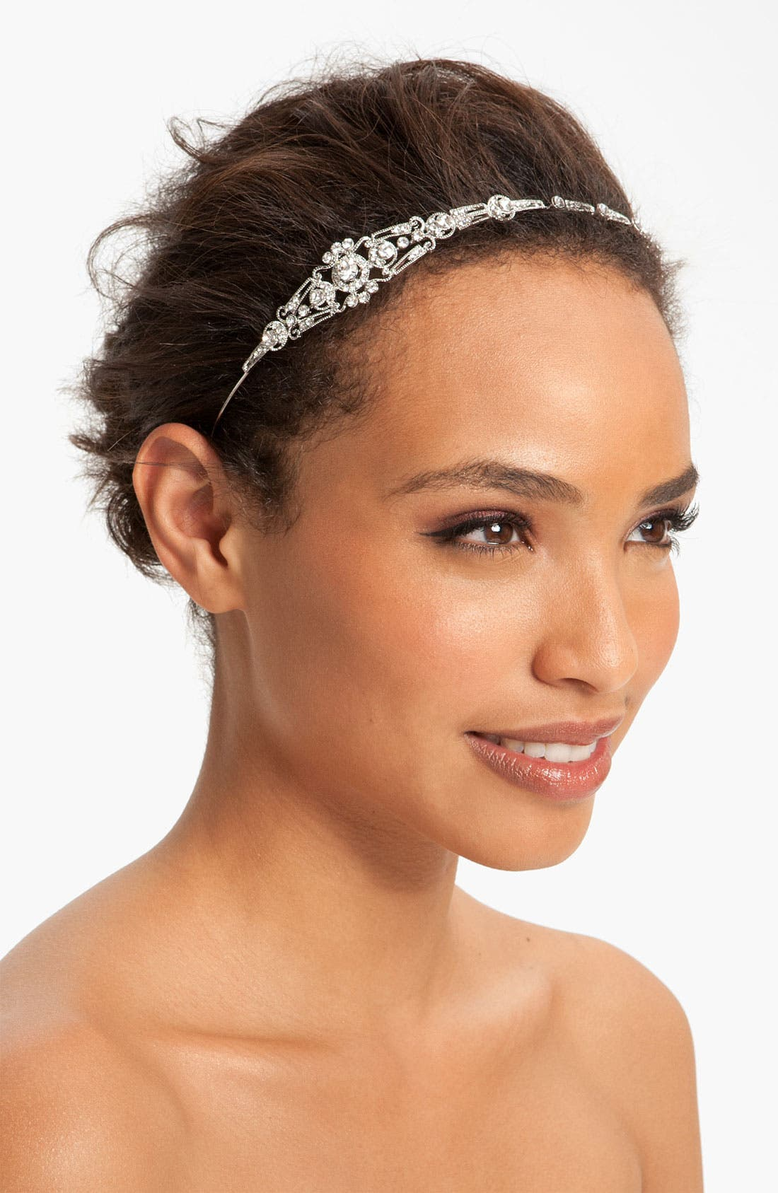 Alternate Image 1 Selected - Nina 'Mariel' Swarovski Crystal Headband