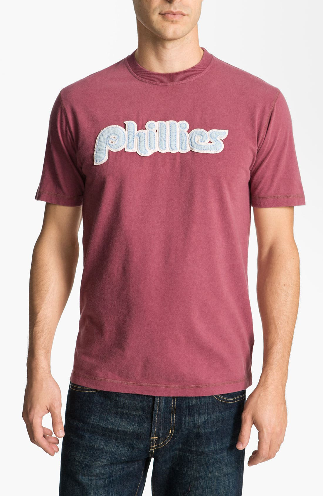 Alternate Image 1 Selected - Red Jacket 'Phillies - Overcome' T-Shirt