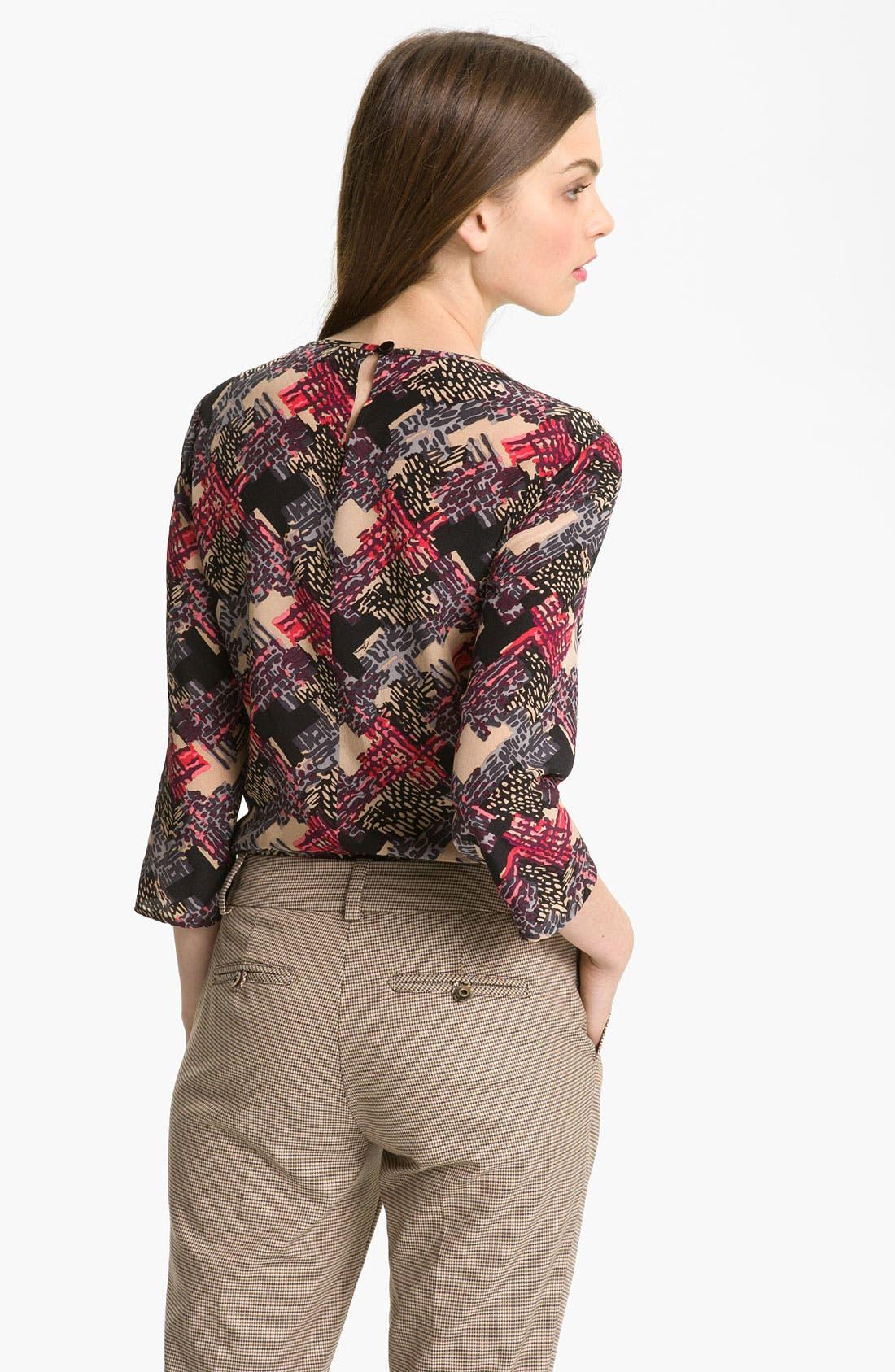 Alternate Image 2  - Trina Turk 'Zolly' Silk Top