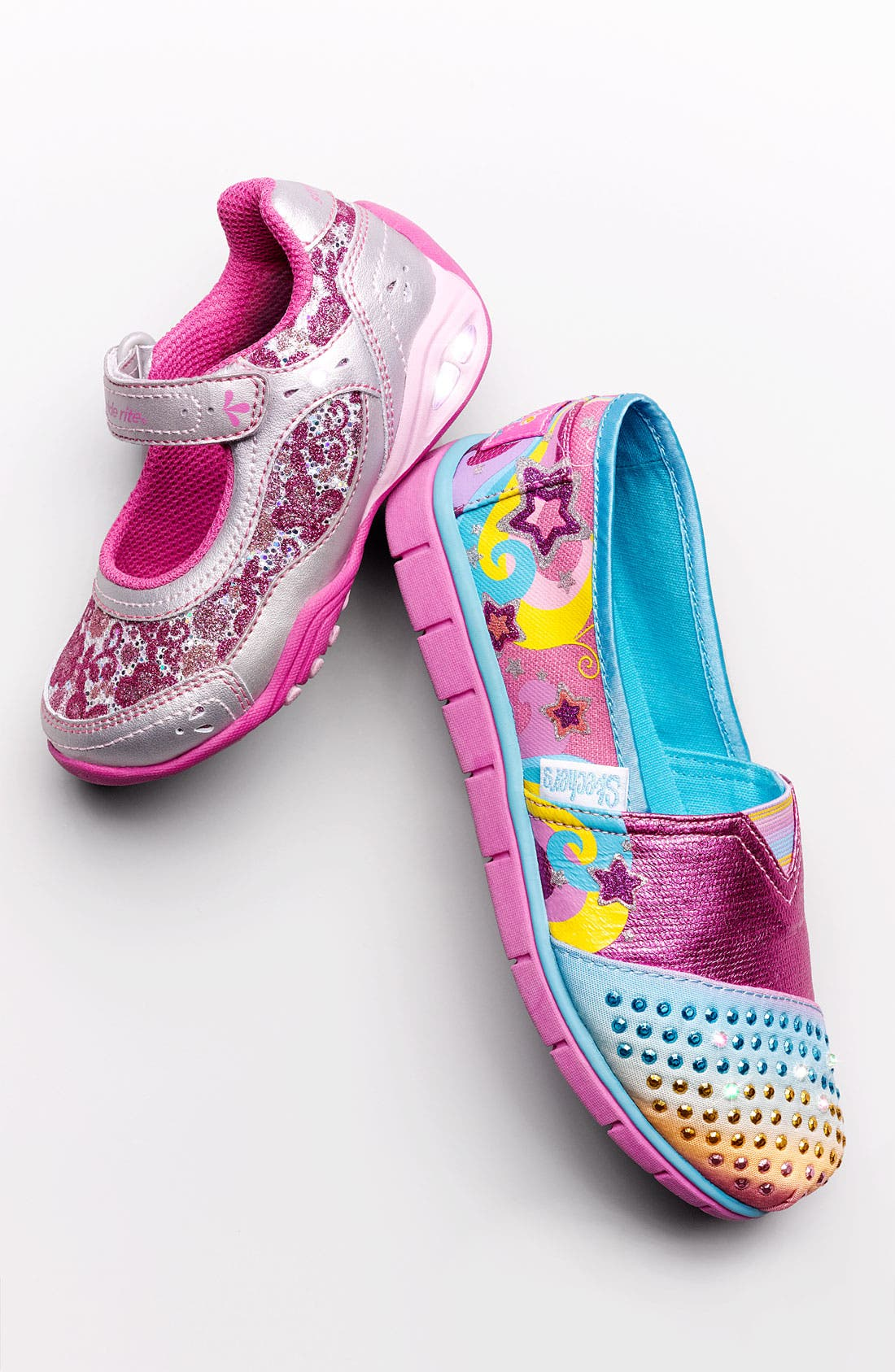 Alternate Image 5  - Stride Rite 'Sapphire' Light-Up Sneaker (Walker, Toddler & Little Kid)