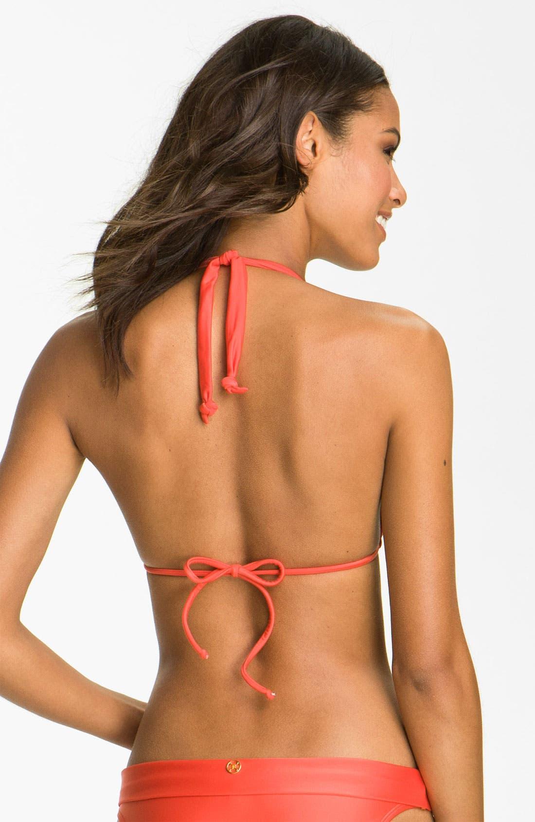 Alternate Image 2  - ViX Swimwear Knot Detailed Triangle Bikini Top