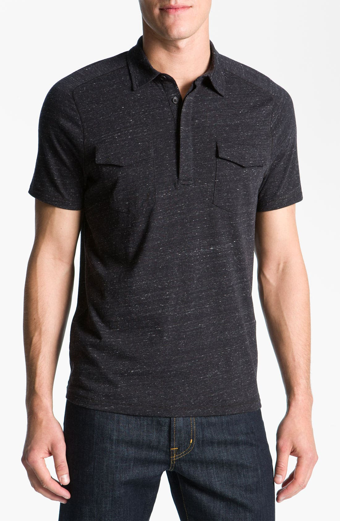 Alternate Image 1 Selected - John Varvatos Star USA Regular Fit Polo