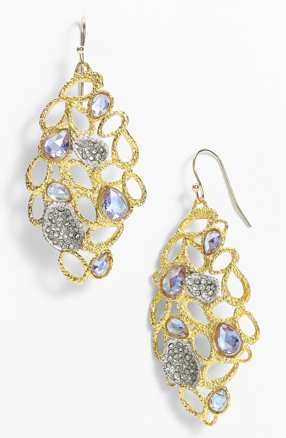 Alternate Image 1 Selected - Alexis Bittar 'Elements' Pavé Accent Drop Earrings (Nordstrom Exclusive)