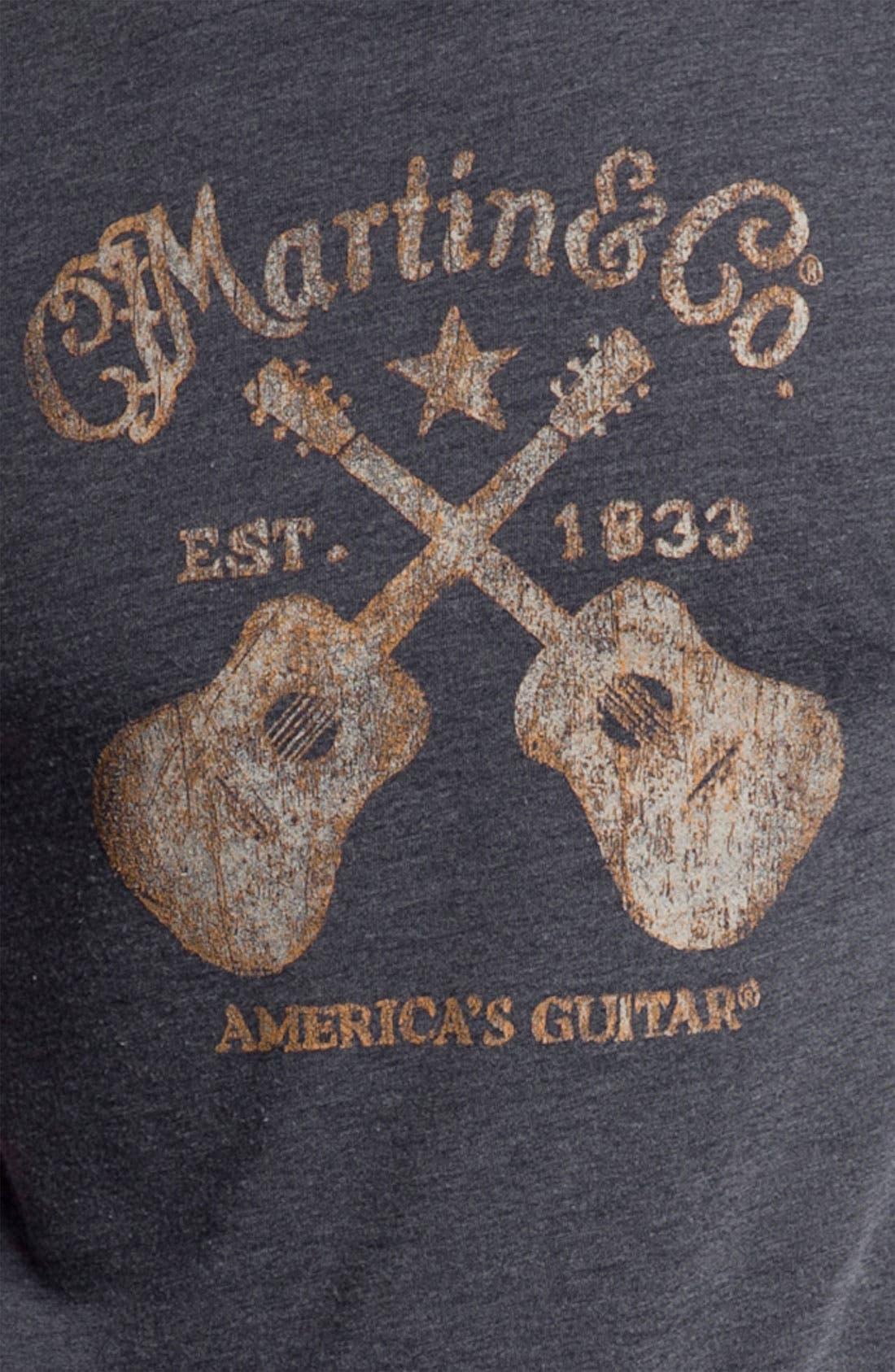 Alternate Image 3  - Lucky Brand 'Martin Guitars' T-Shirt