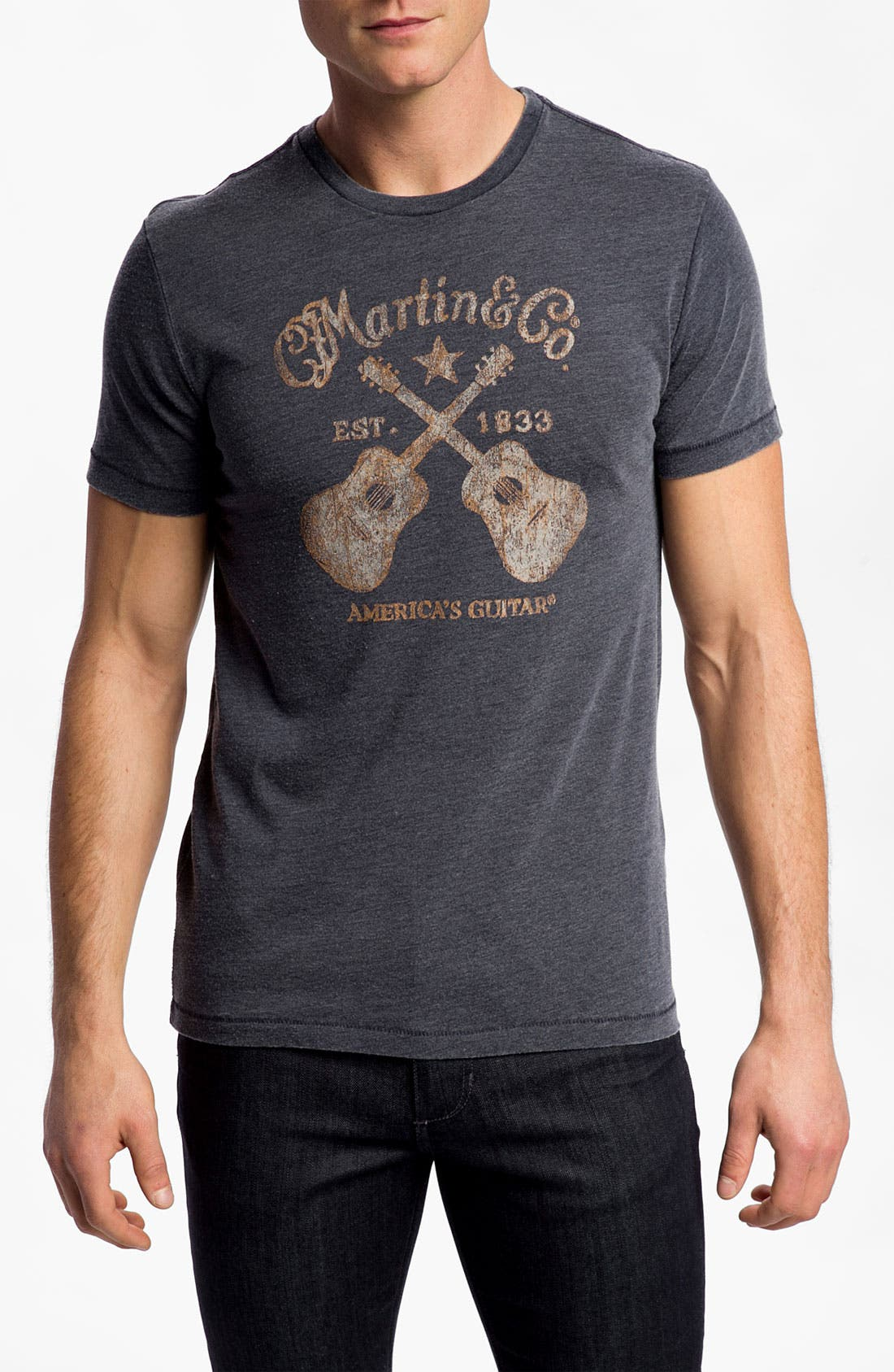 Alternate Image 1 Selected - Lucky Brand 'Martin Guitars' T-Shirt