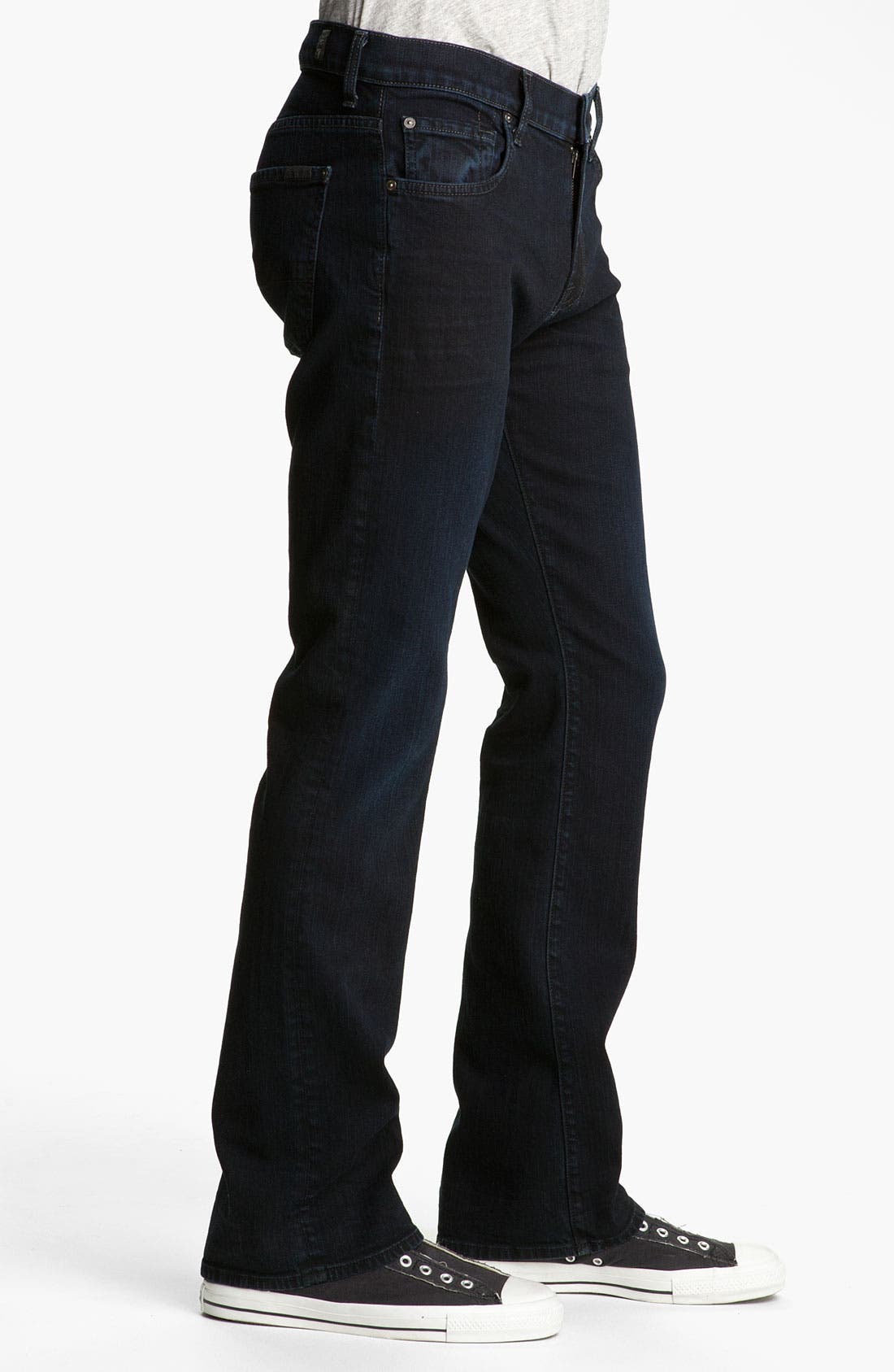 Alternate Image 3  - 7 For All Mankind® 'Brett' Bootcut Jeans (Autumn Eclipse)