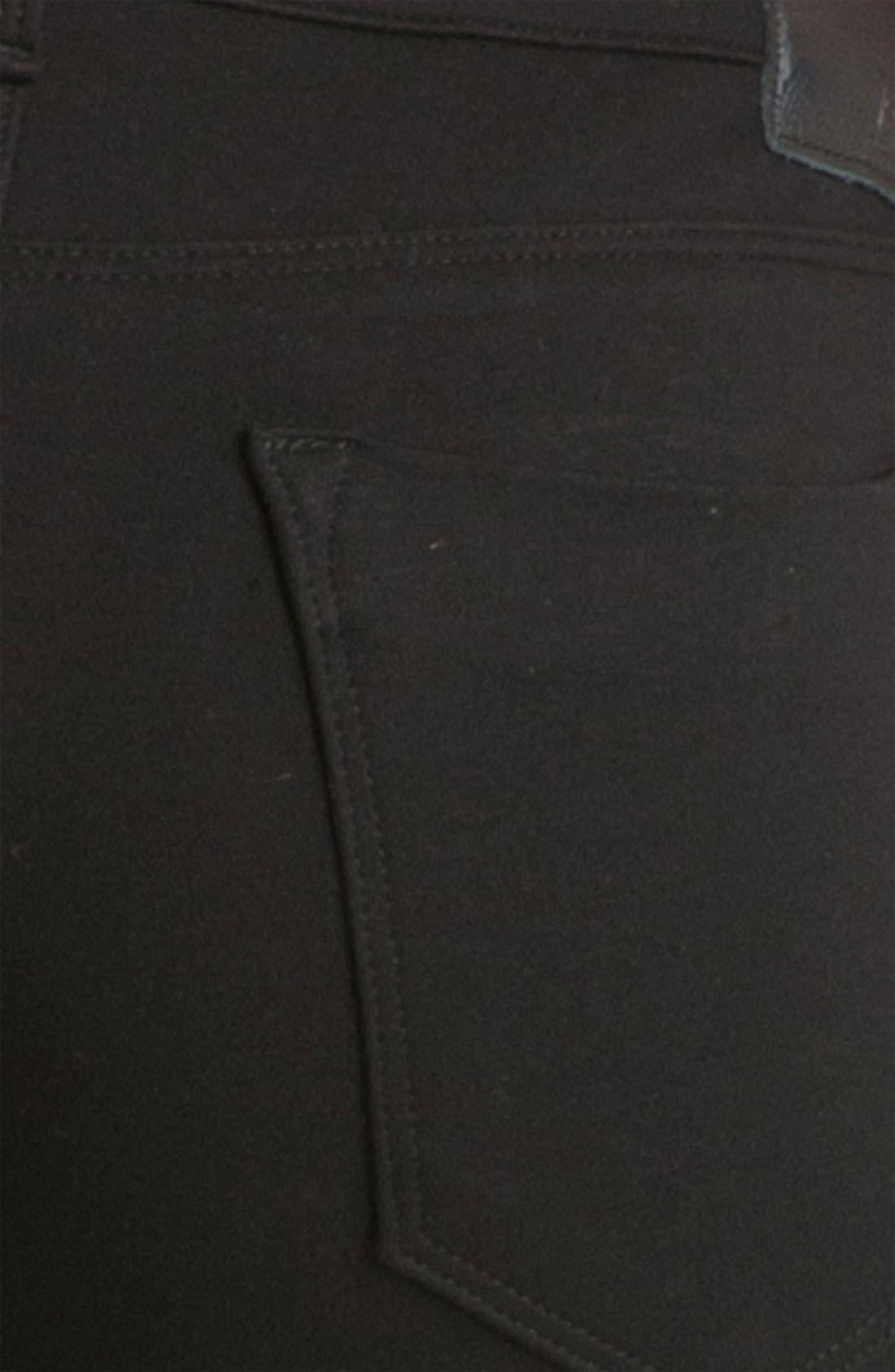 Alternate Image 3  - Dylan George 'Runway' Mid Rise Stretch Knit Leggings