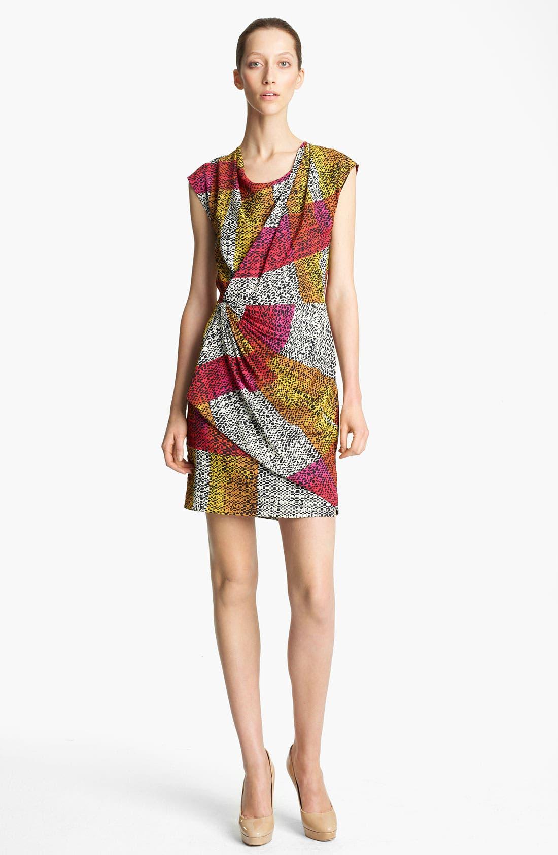 Main Image - Thakoon Print Faux Wrap Dress