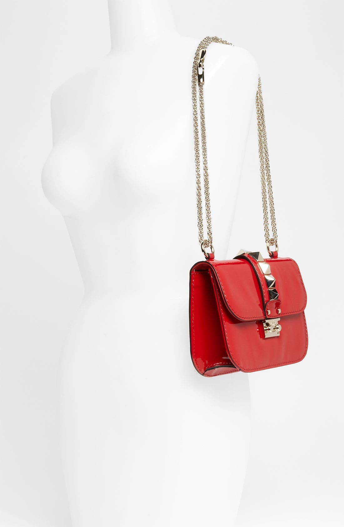 Alternate Image 2  - Valentino 'Rockstud - Small Lock' Leather Shoulder Bag