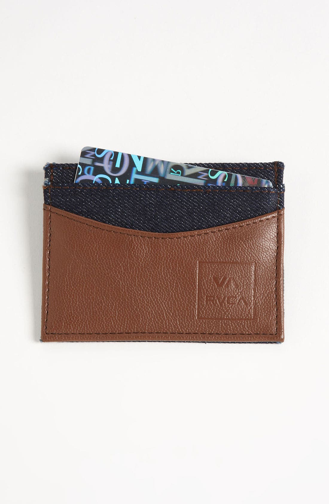 Main Image - RVCA 'Cuban' Card Case