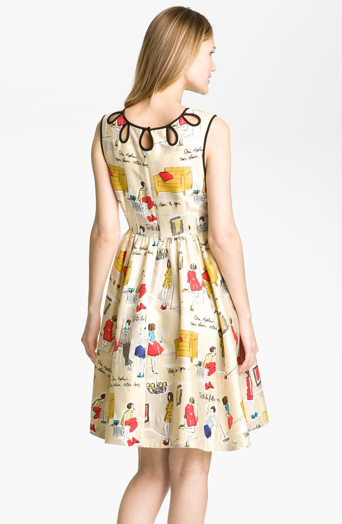 Alternate Image 2  - kate spade new york 'rainey' dress