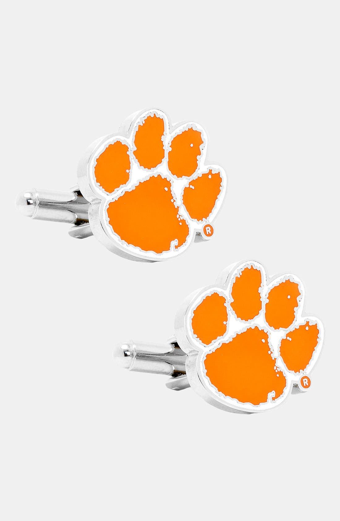 Alternate Image 1 Selected - Cufflinks, Inc. 'Clemson University Tigers' Cuff Links