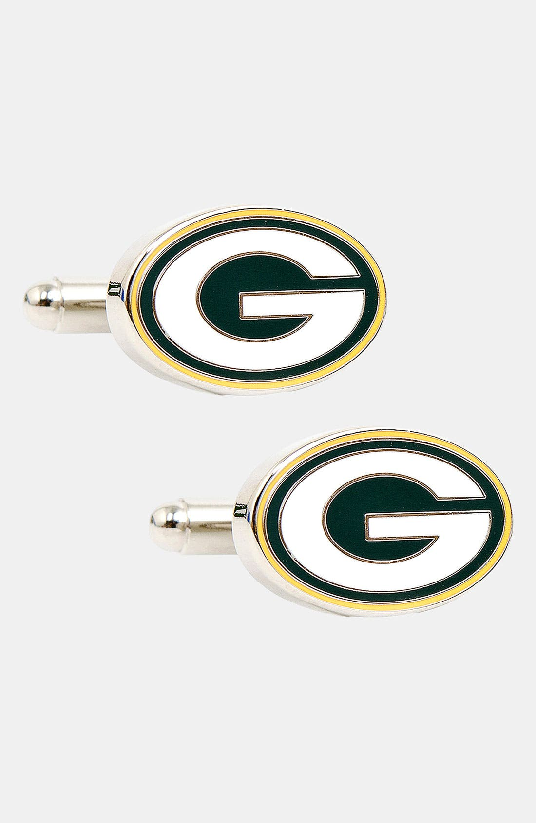 Main Image - Cufflinks, Inc. 'Green Bay Packers' Cuff Links