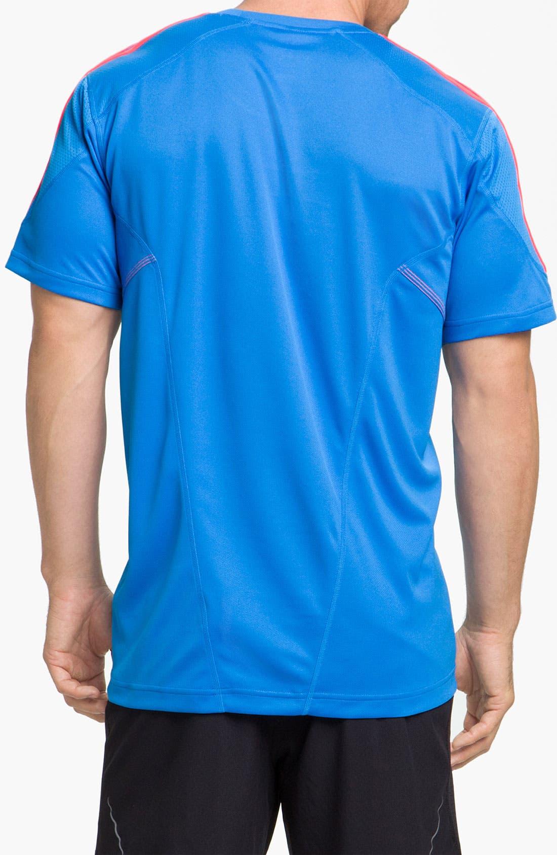 Alternate Image 2  - adidas 'Response Drei Streifen' T-Shirt
