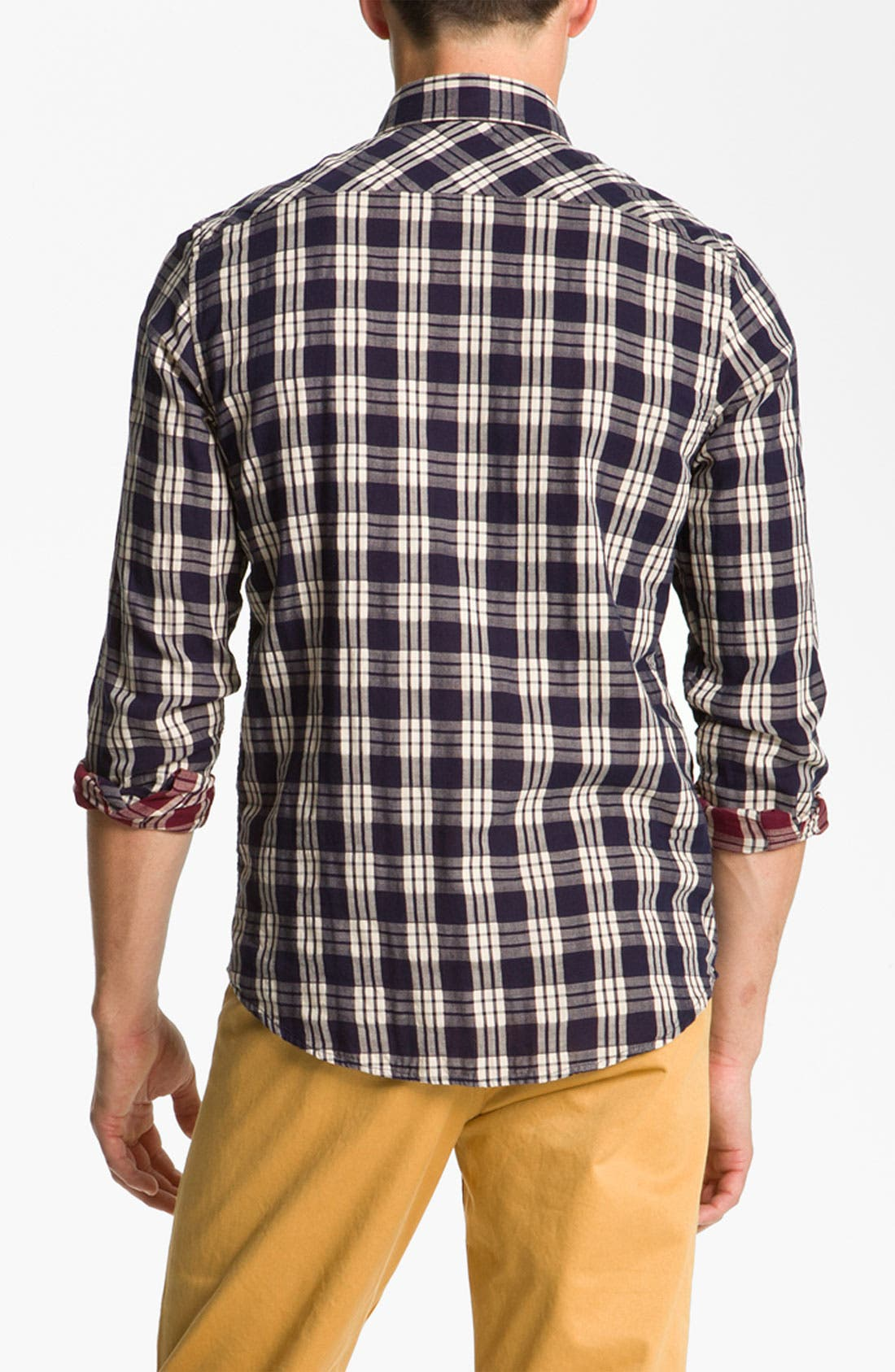 Alternate Image 2  - Ben Sherman 'Clerkenwell' Reversible Plaid Woven Shirt
