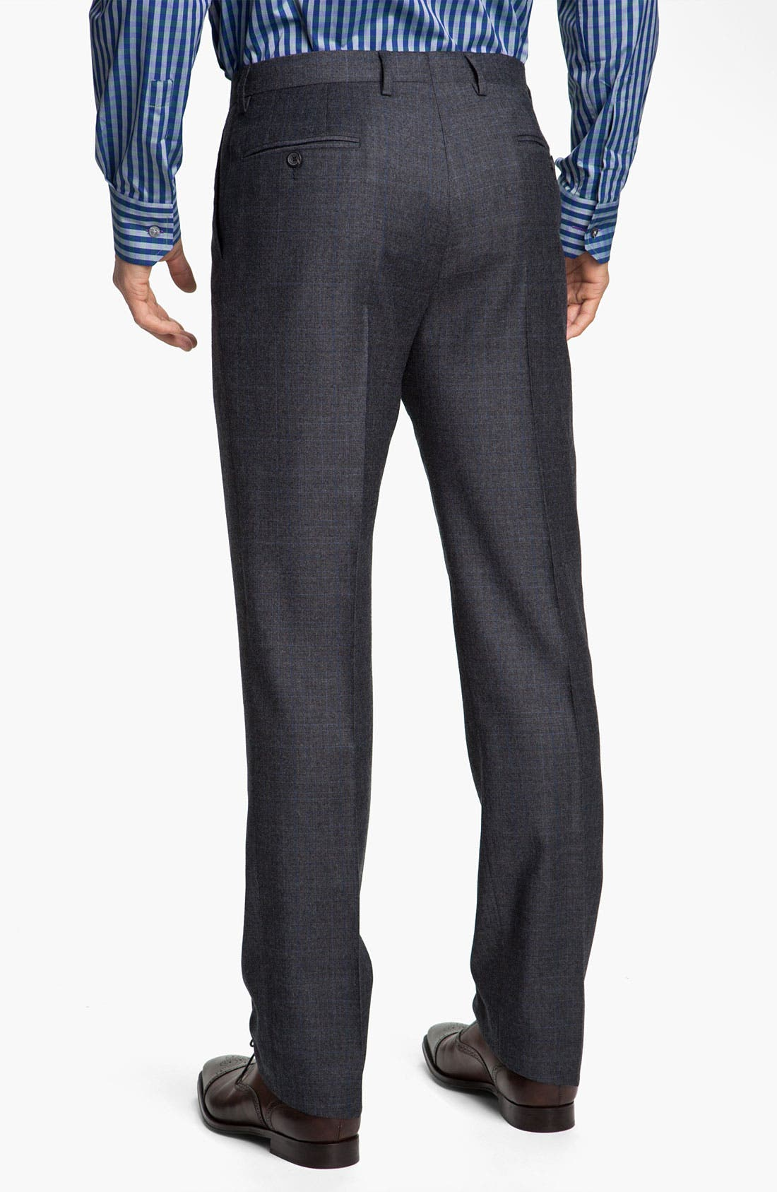 Alternate Image 5  - Paul Smith London Grid Print Wool Suit