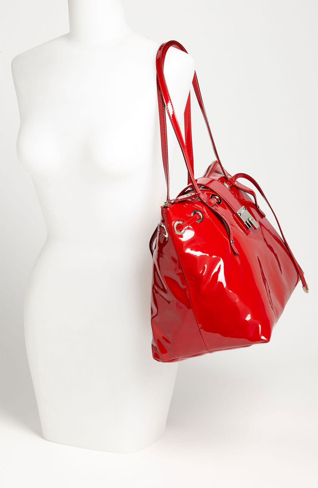 Alternate Image 2  - Jimmy Choo 'Rhea' Patent Leather Tote