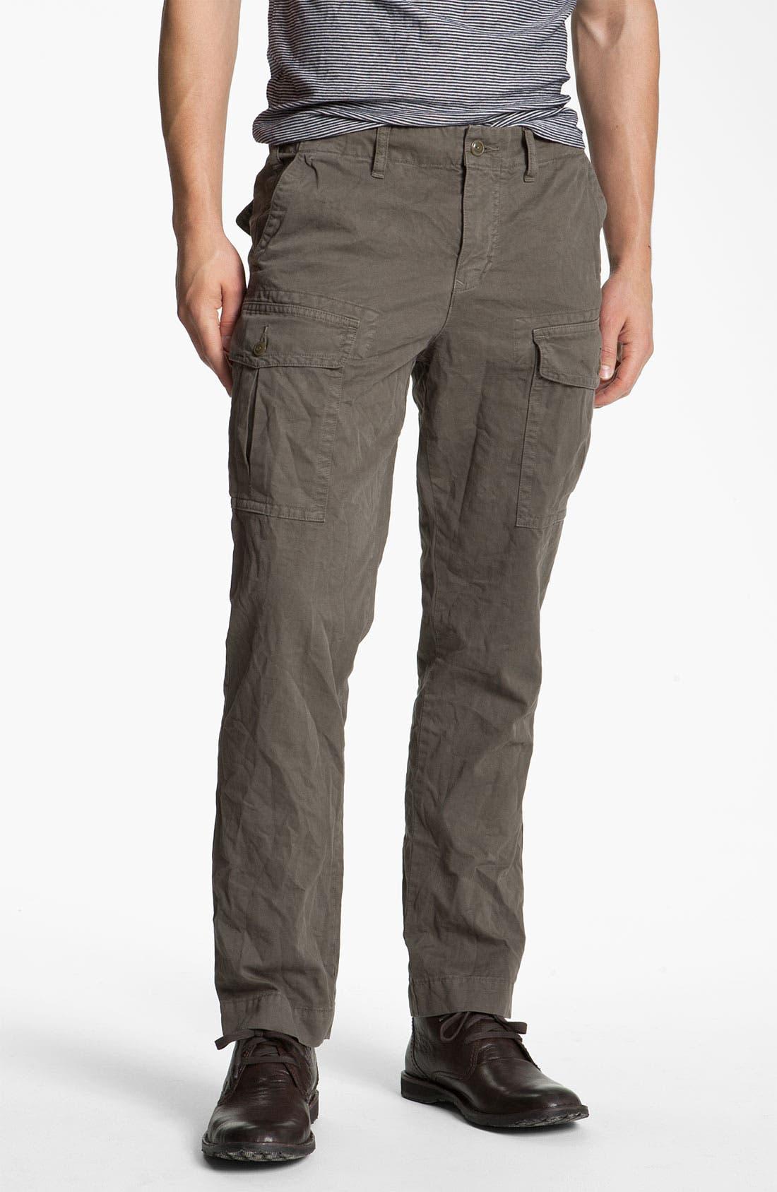 Main Image - Save Khaki Cargo Pants
