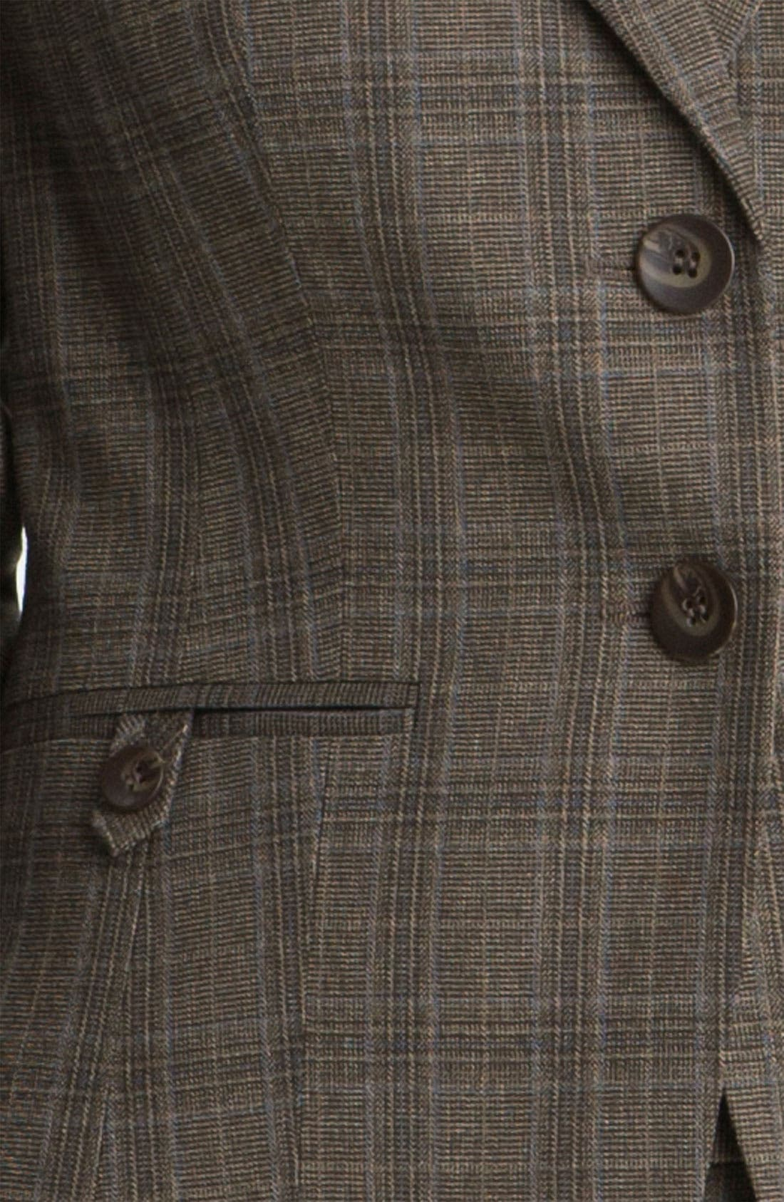 Alternate Image 3  - Halogen® Plaid Jacket