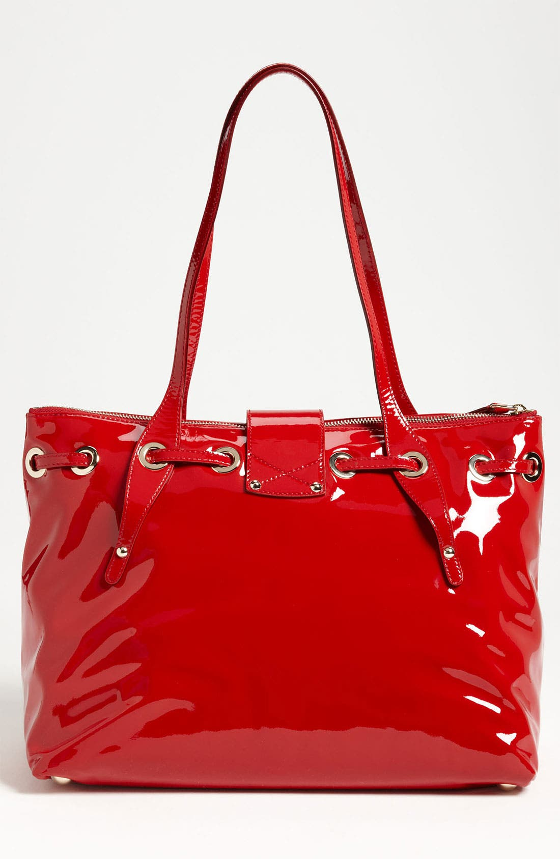 Alternate Image 4  - Jimmy Choo 'Rhea' Patent Leather Tote