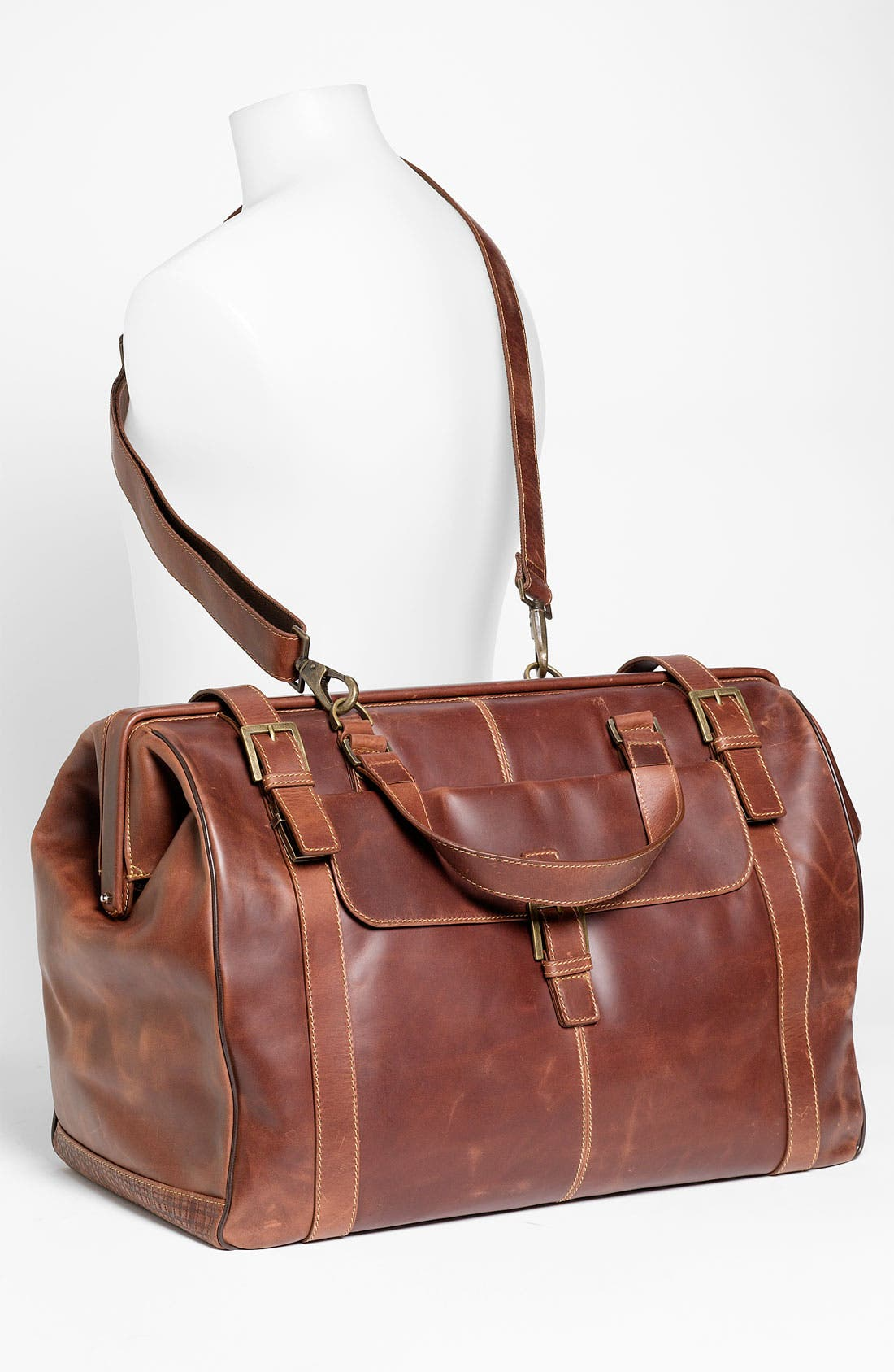 'Bryant' Duffel Bag,                             Alternate thumbnail 2, color,                             Antique Mahogany