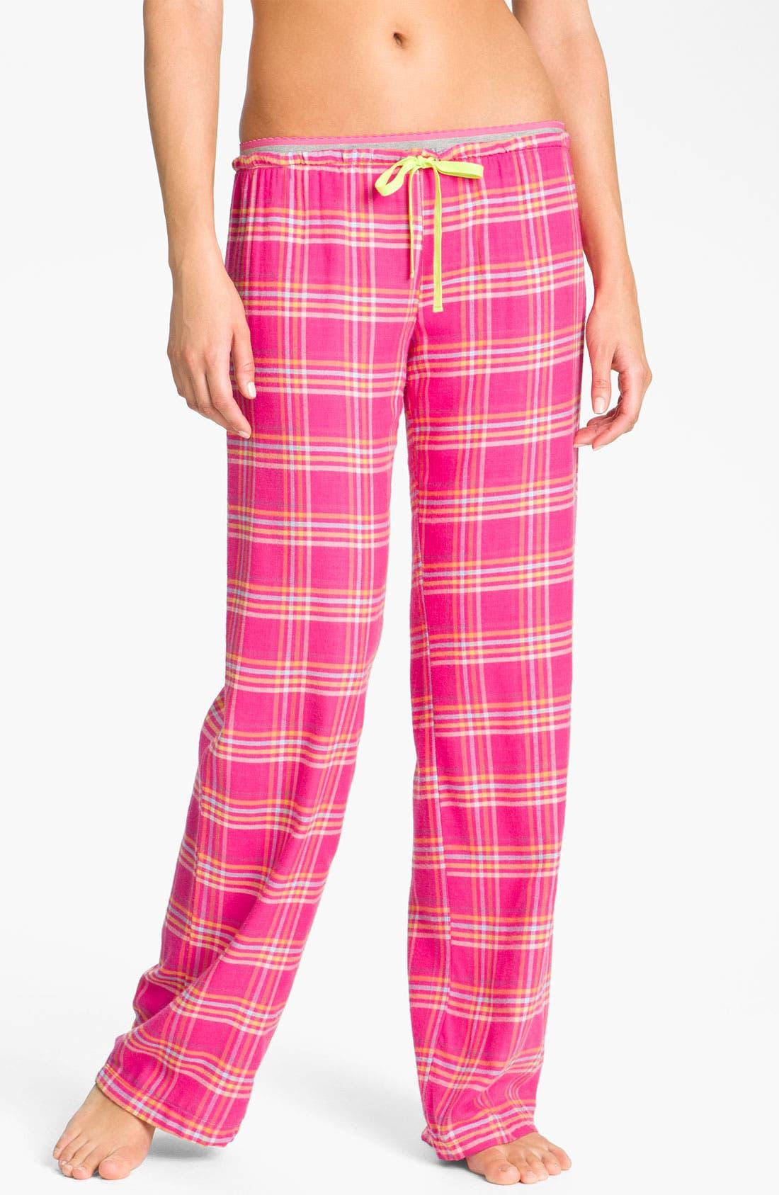 Alternate Image 1 Selected - Steve Madden 'Mad4Plaid' Pajama Pants