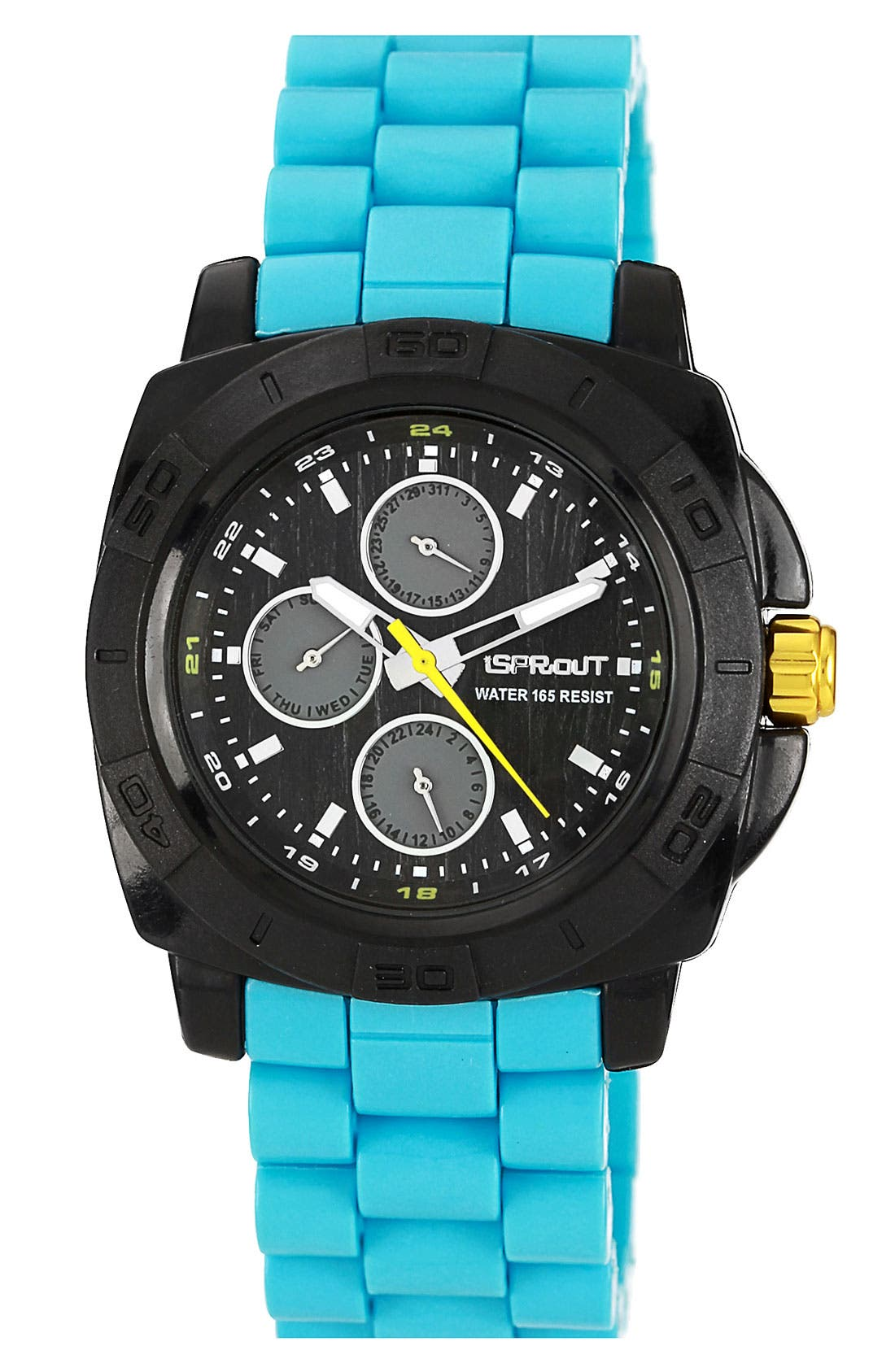 Alternate Image 1 Selected - SPROUT™ Watches Round Resin Bracelet Watch, 41mm