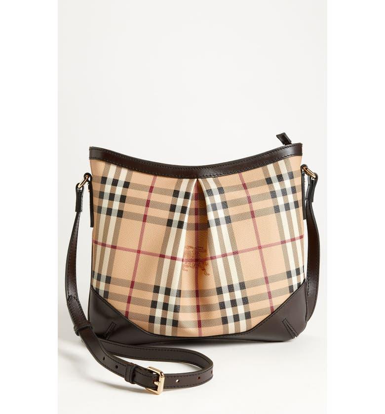 Burberry Haymarket Crossbody Bag