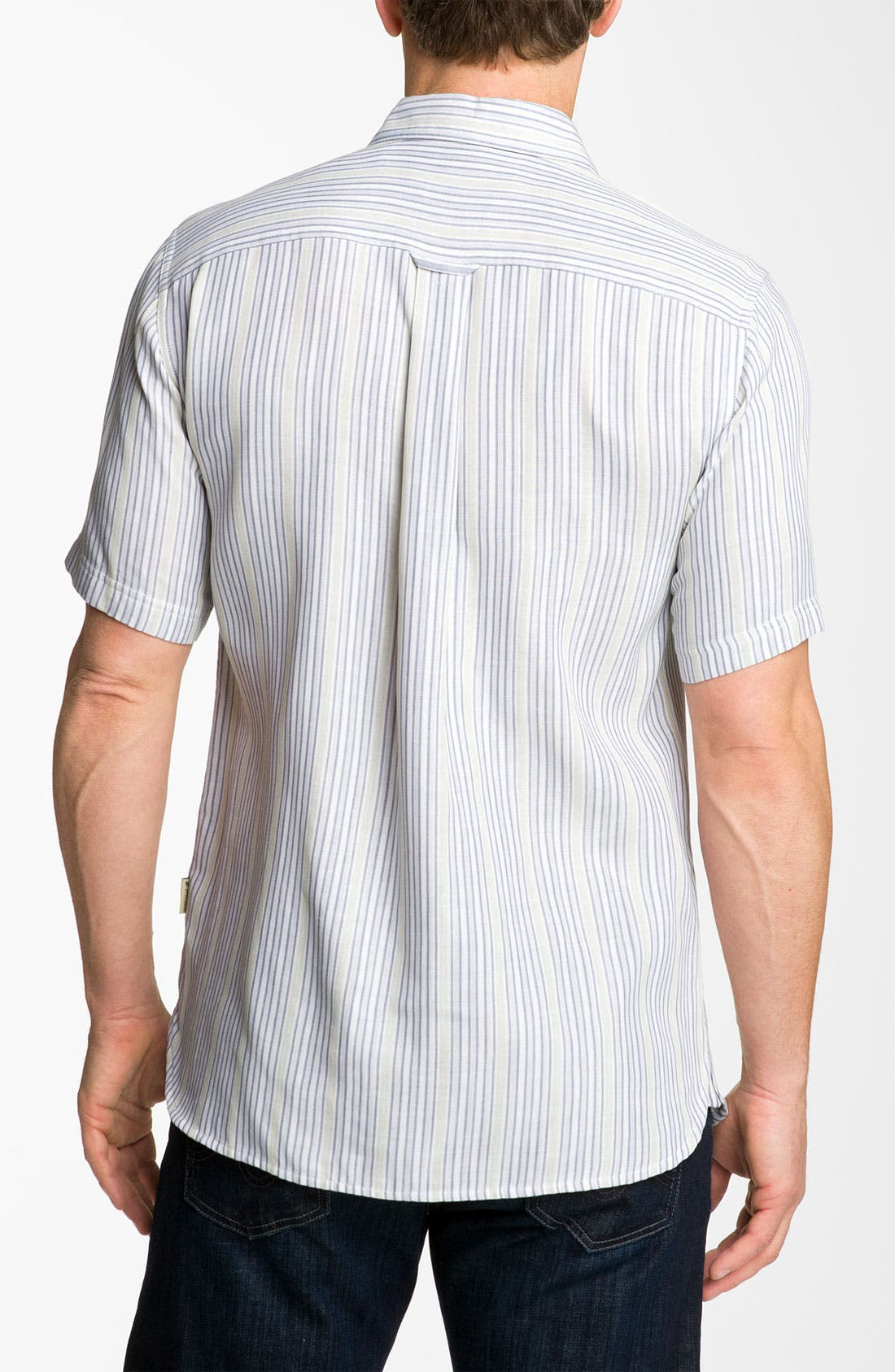 Alternate Image 2  - Nat Nast 'Dog Daze' Silk & Cotton Sport Shirt