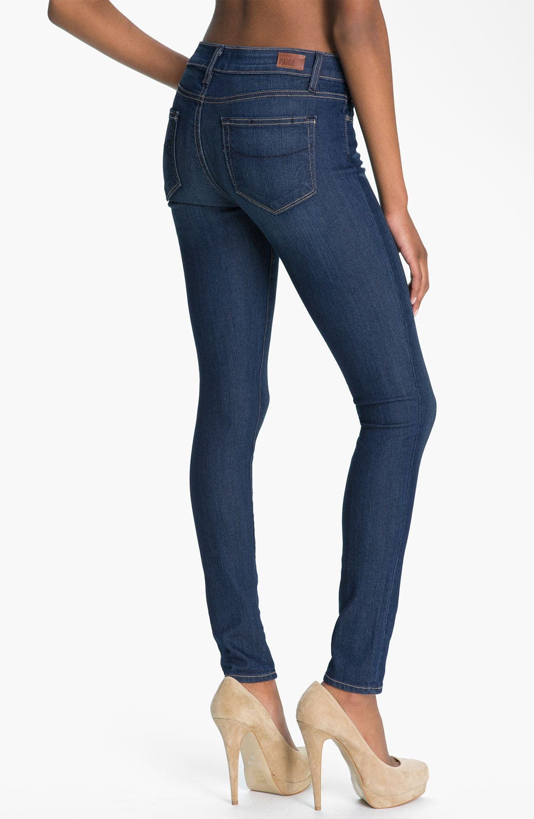 Alternate Image 2  - Paige Denim 'Verdugo' Stretch Denim Leggings (Finley)