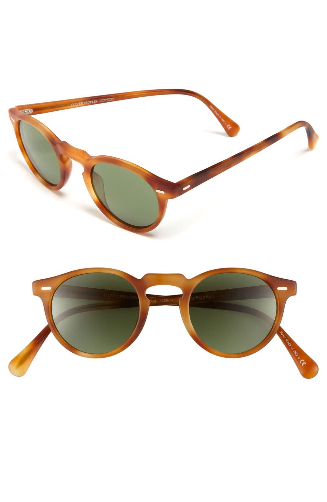Alternate Image 1 Selected - Oliver Peoples 45mm Keyhole Sunglasses