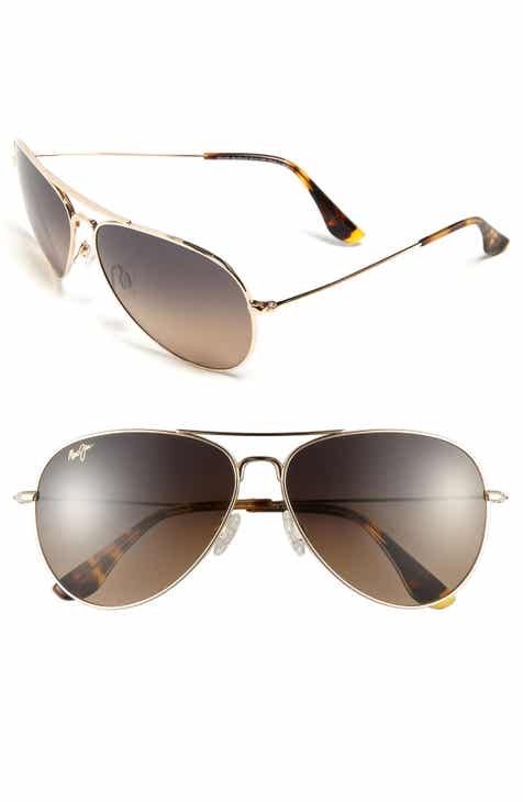 9332b927c Maui Jim Mavericks 61mm PolarizedPlus2® Aviator Sunglasses