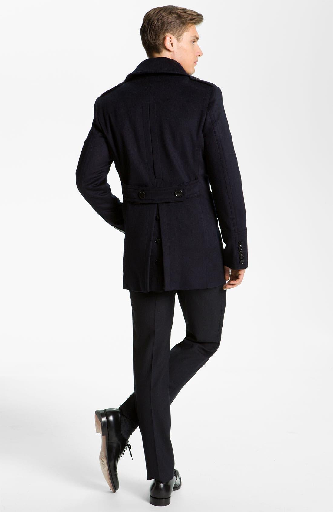 Alternate Image 5  - Burberry London Woven Cotton Shirt