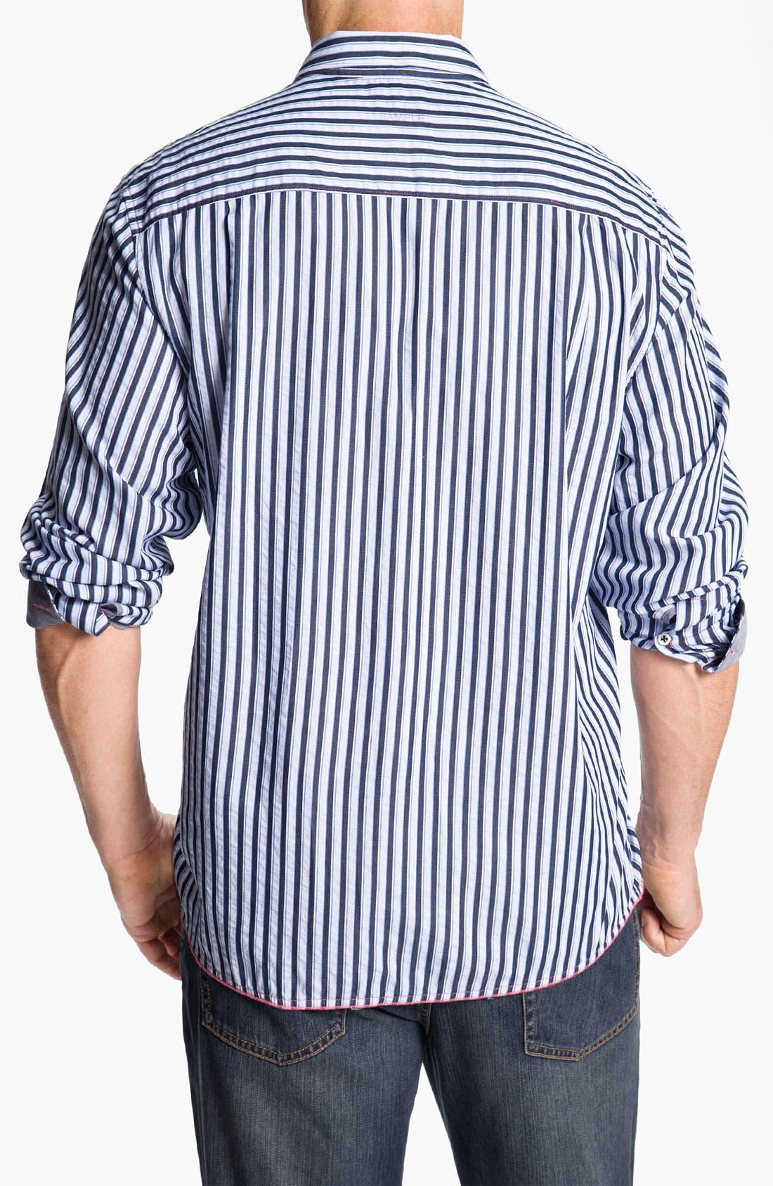 Alternate Image 2  - Tommy Bahama Denim 'Dalat Stripe' Sport Shirt