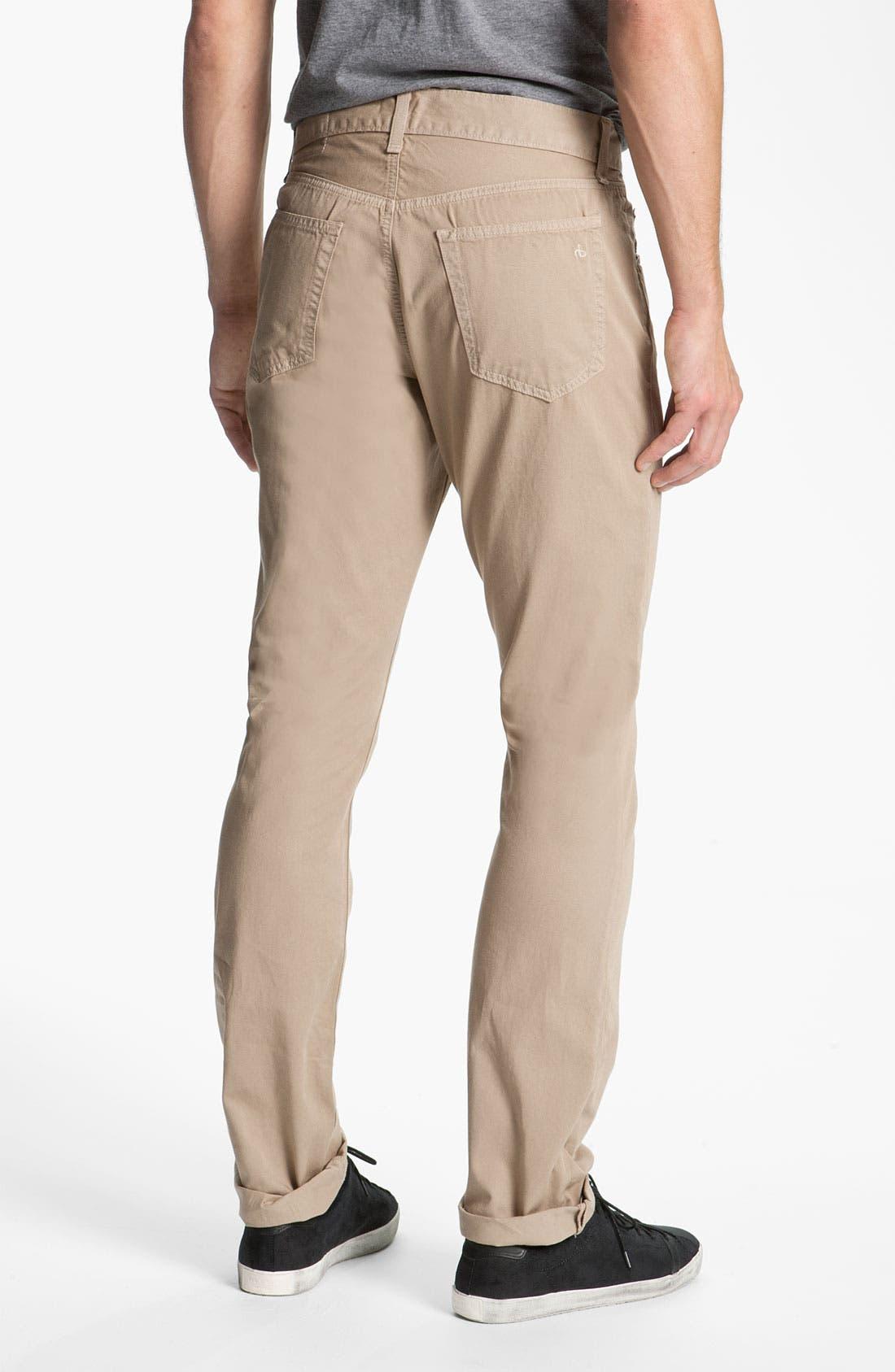 Alternate Image 2  - rag & bone 'RB15X' Slim Straight Leg Jeans