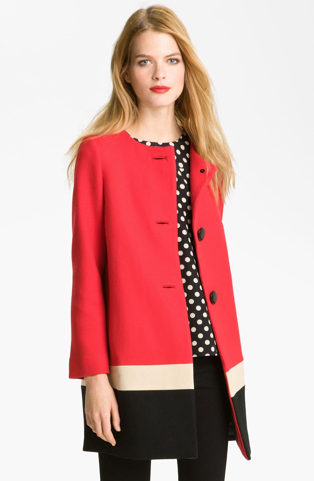 Main Image - kate spade new york 'garby' wool coat