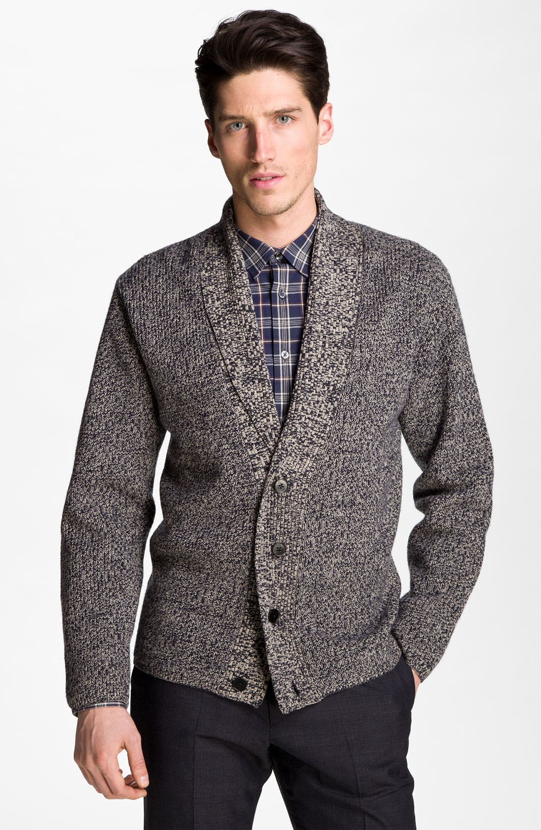 Alternate Image 1 Selected - PS Paul Smith Shawl Collar Cardigan