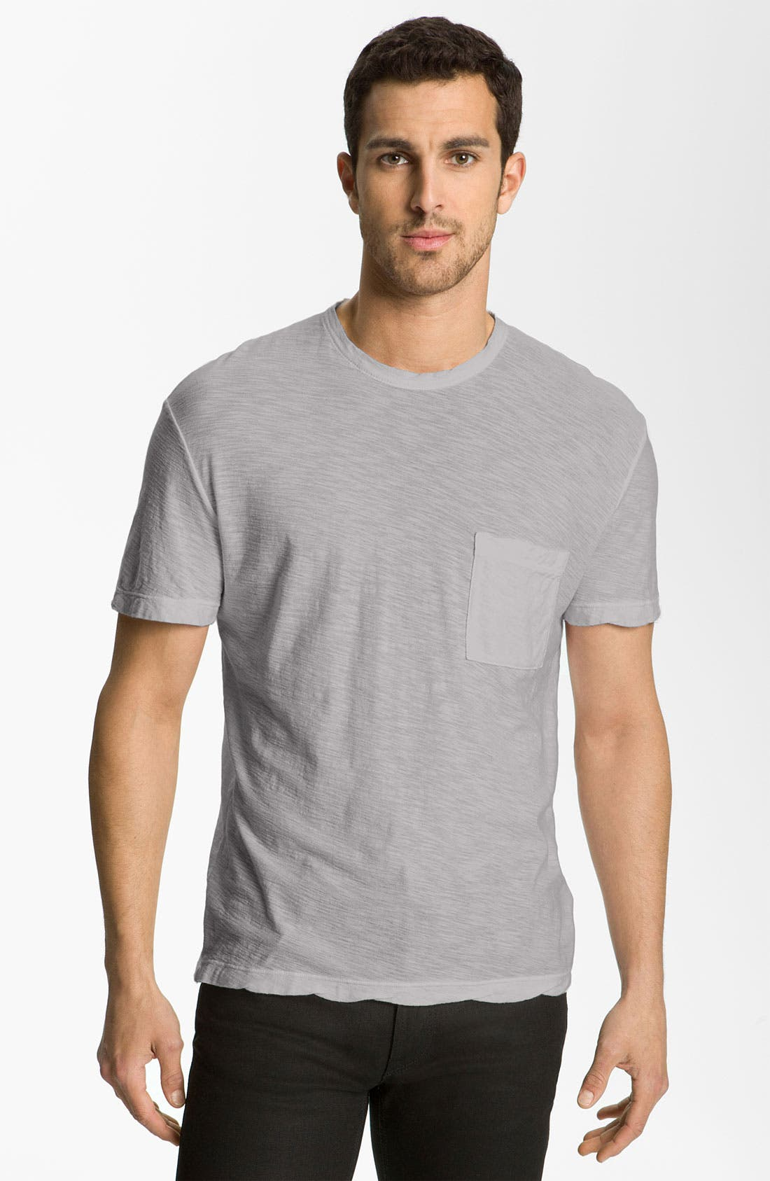 Alternate Image 1 Selected - James Perse Classic Slub Crewneck Pocket T-Shirt