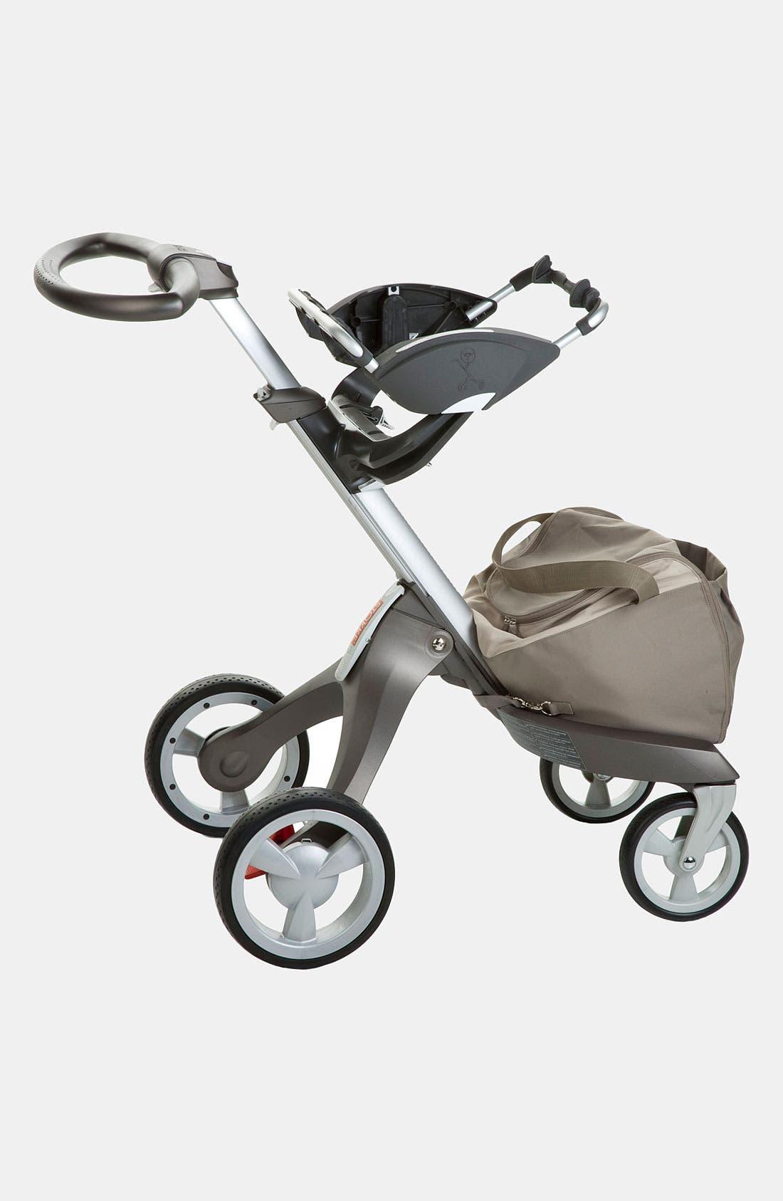 Xplory<sup>®</sup> Stroller to Graco<sup>®</sup> Car Seat Adaptor,                             Main thumbnail 1, color,                             Dark Grey