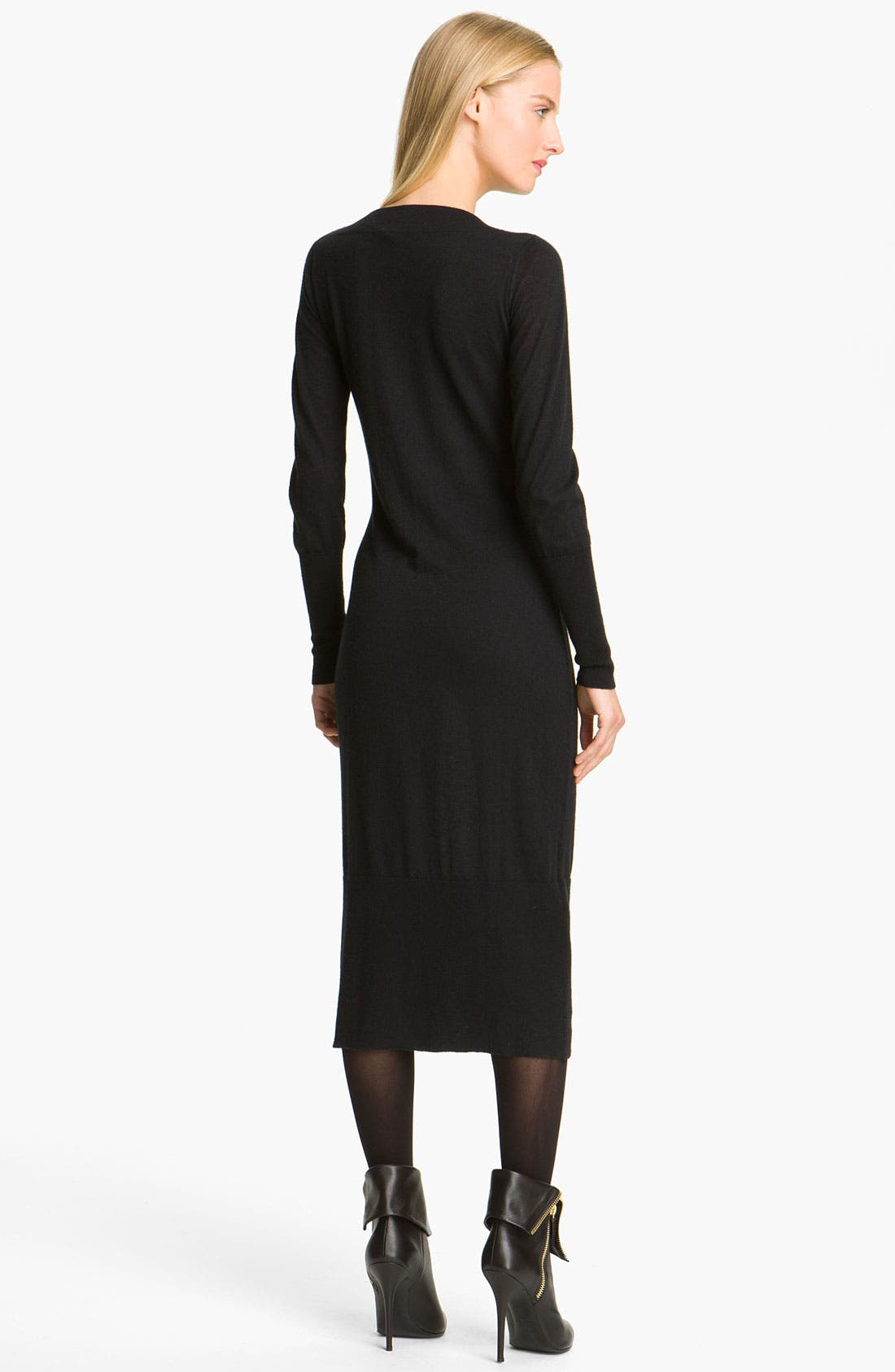 Alternate Image 2  - autumn cashmere Cashmere Knit Dress