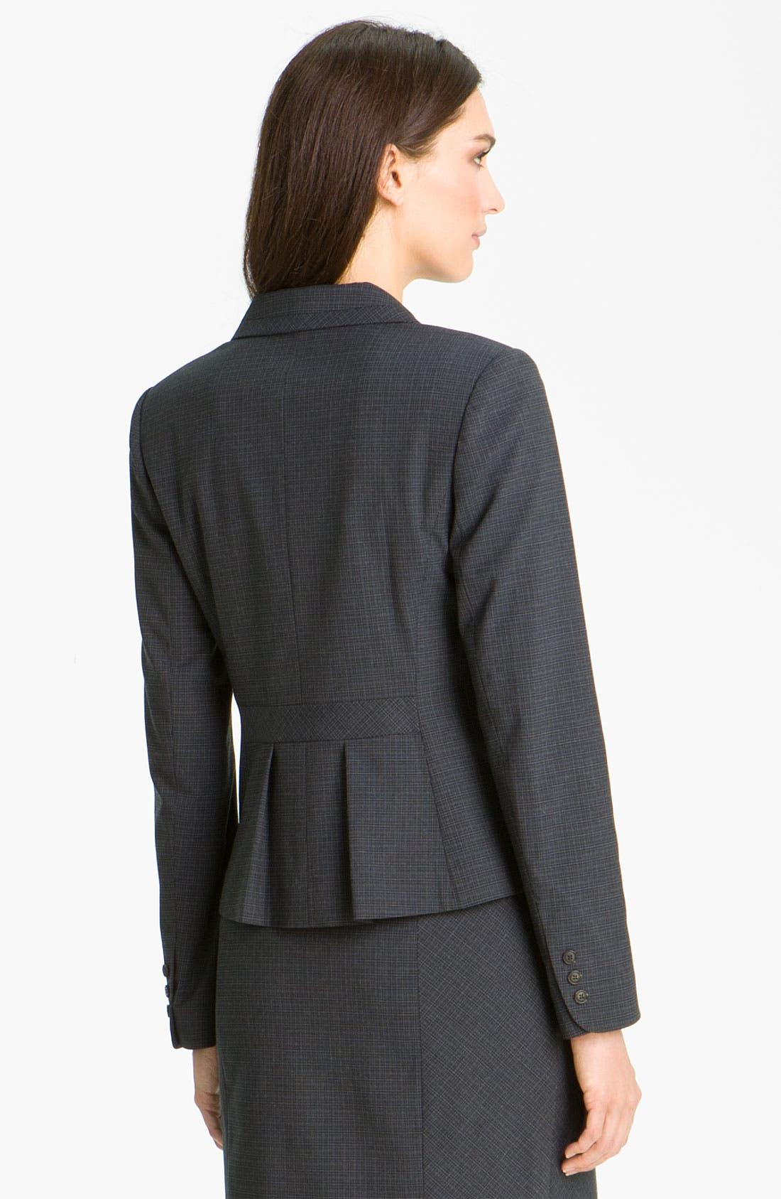Alternate Image 2  - Halogen® Double Check Pattern Jacket