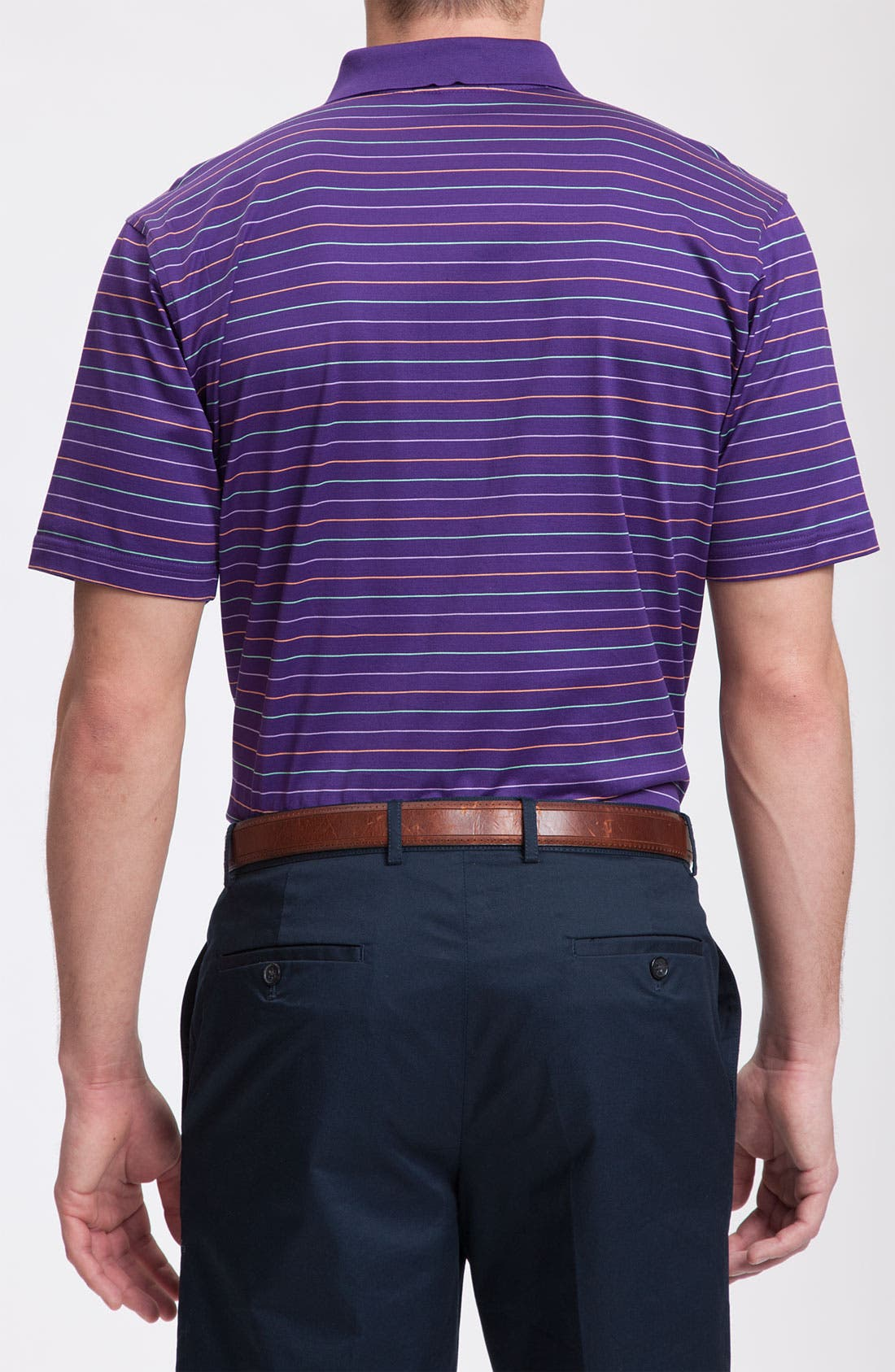 Alternate Image 2  - Peter Millar Cotton Polo