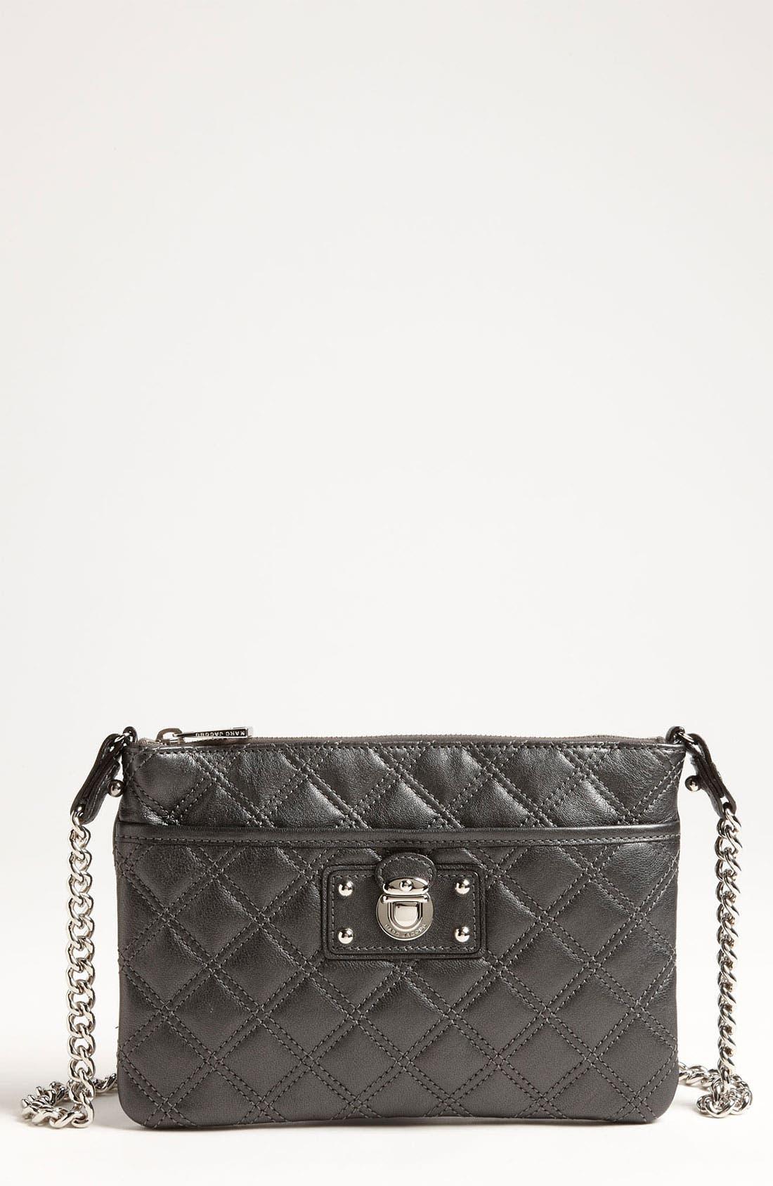 Main Image - MARC JACOBS 'Murray' Leather Crossbody Bag