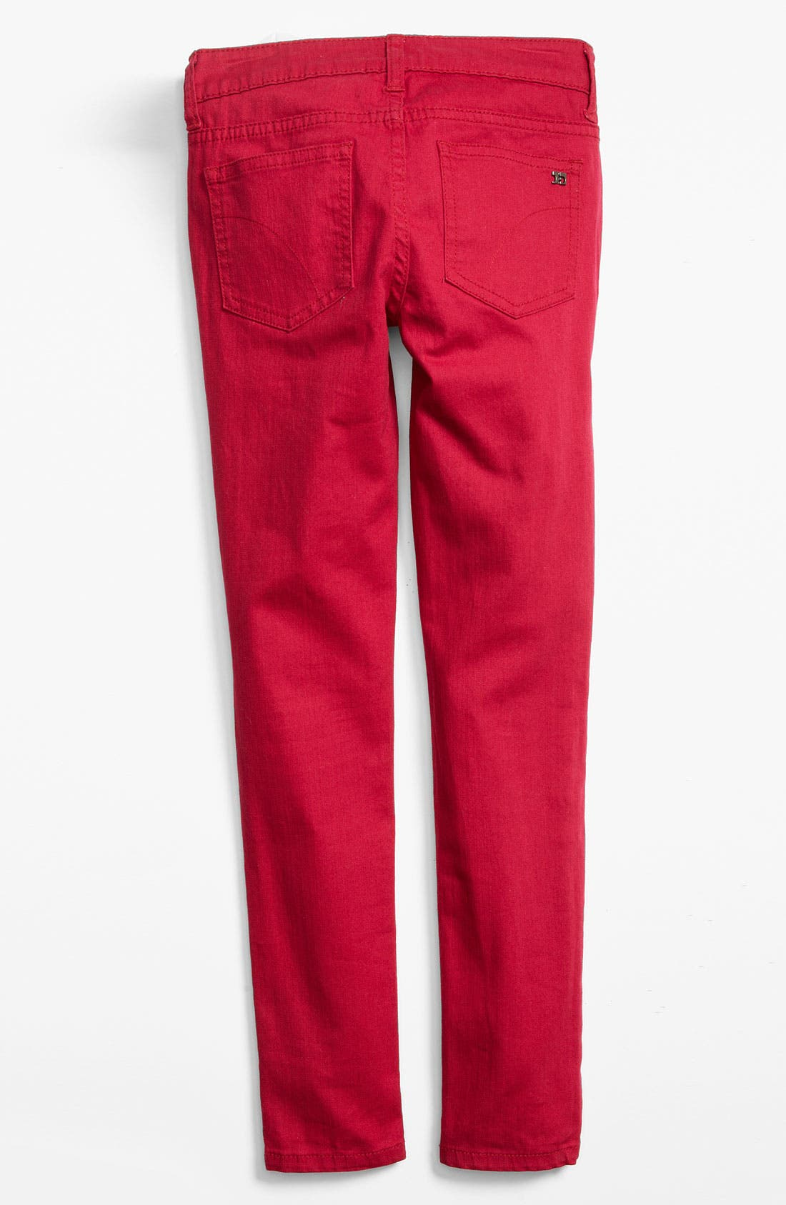 Skinny Jeans,                         Main,                         color, Cerise
