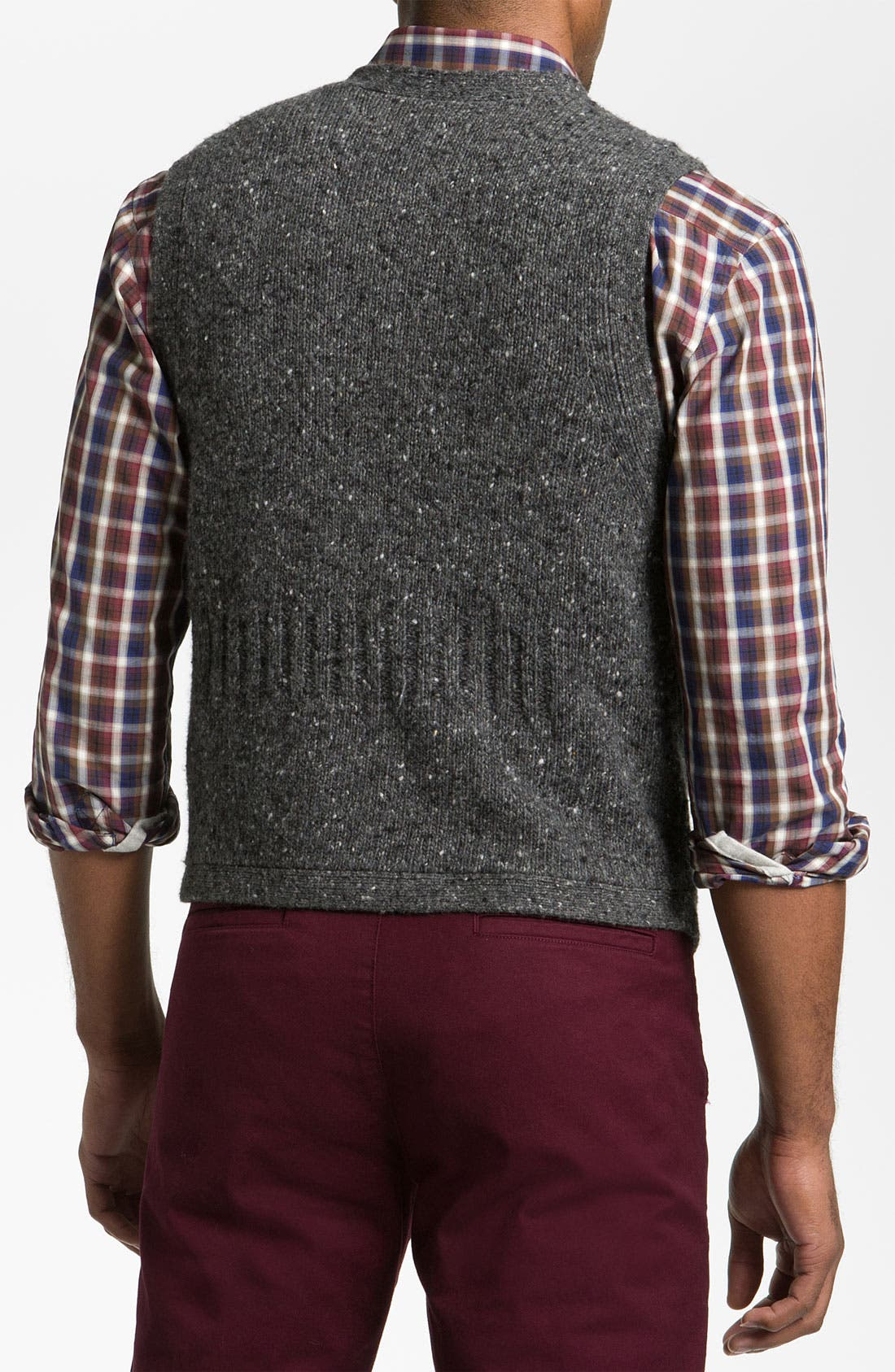Alternate Image 2  - Hickey Freeman 'Donegal' Merino Blend Sweater Vest