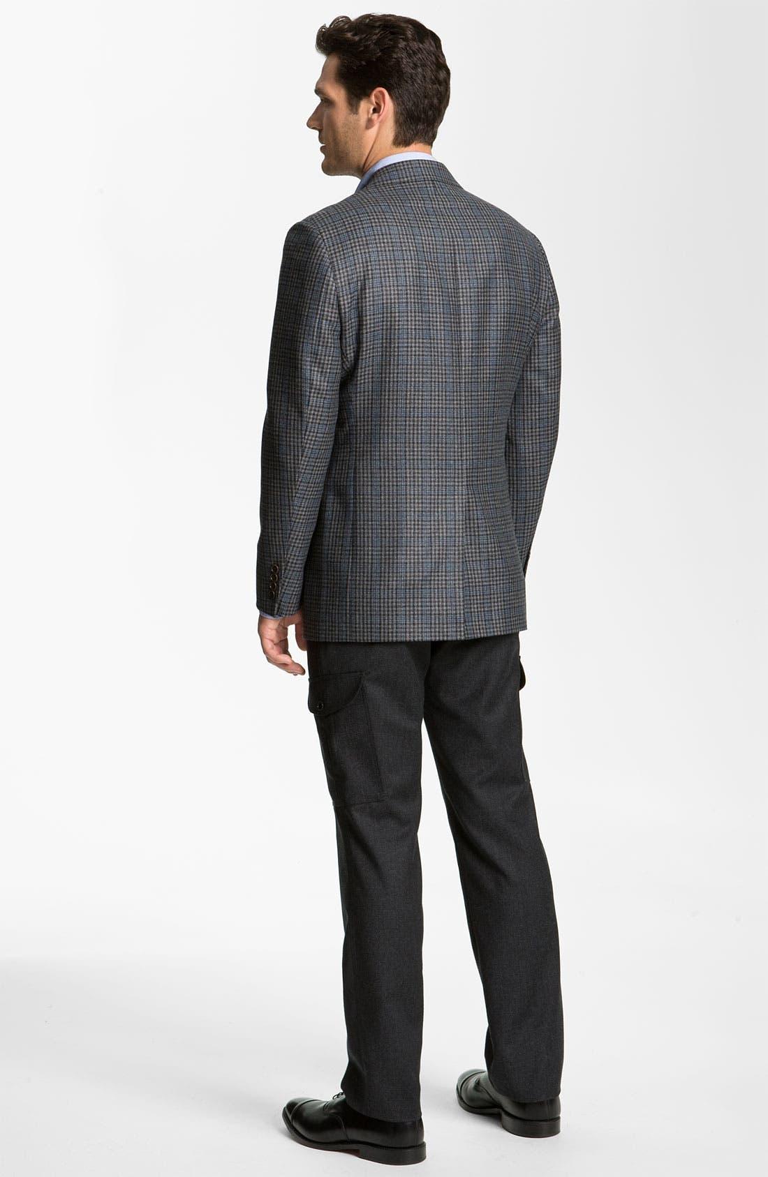 Alternate Image 5  - Brooks Brothers Check Sportcoat
